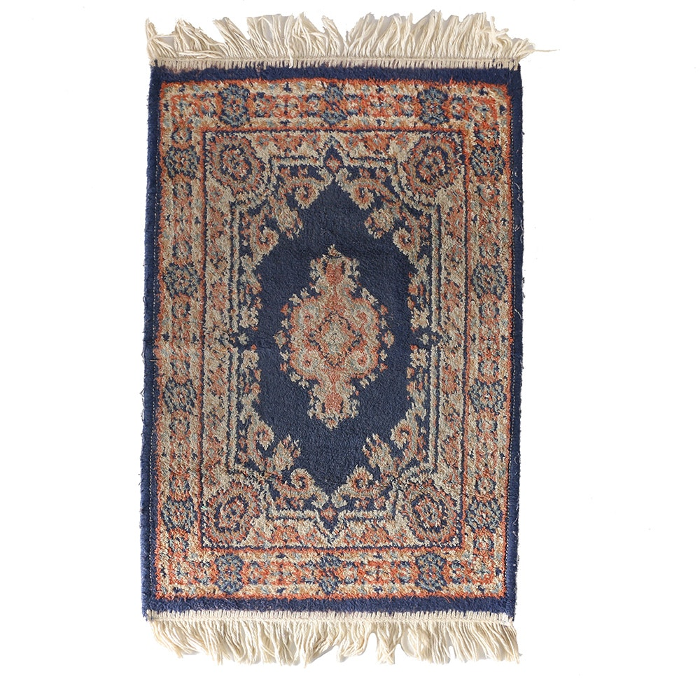Hand-Knotted Persian Style Accent Rug