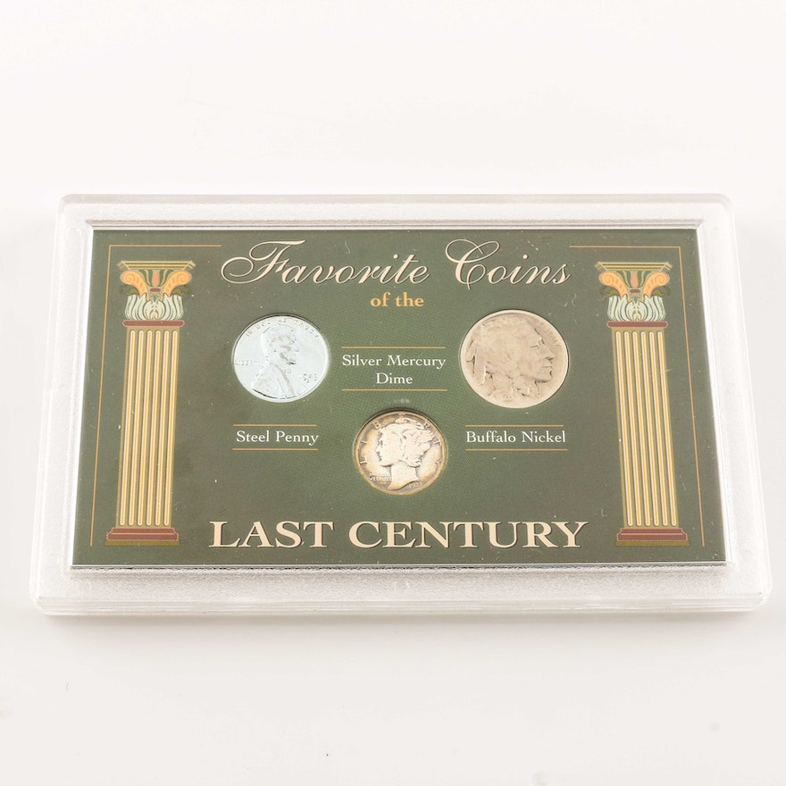 Favorite Coins of the Last Century Coin Set