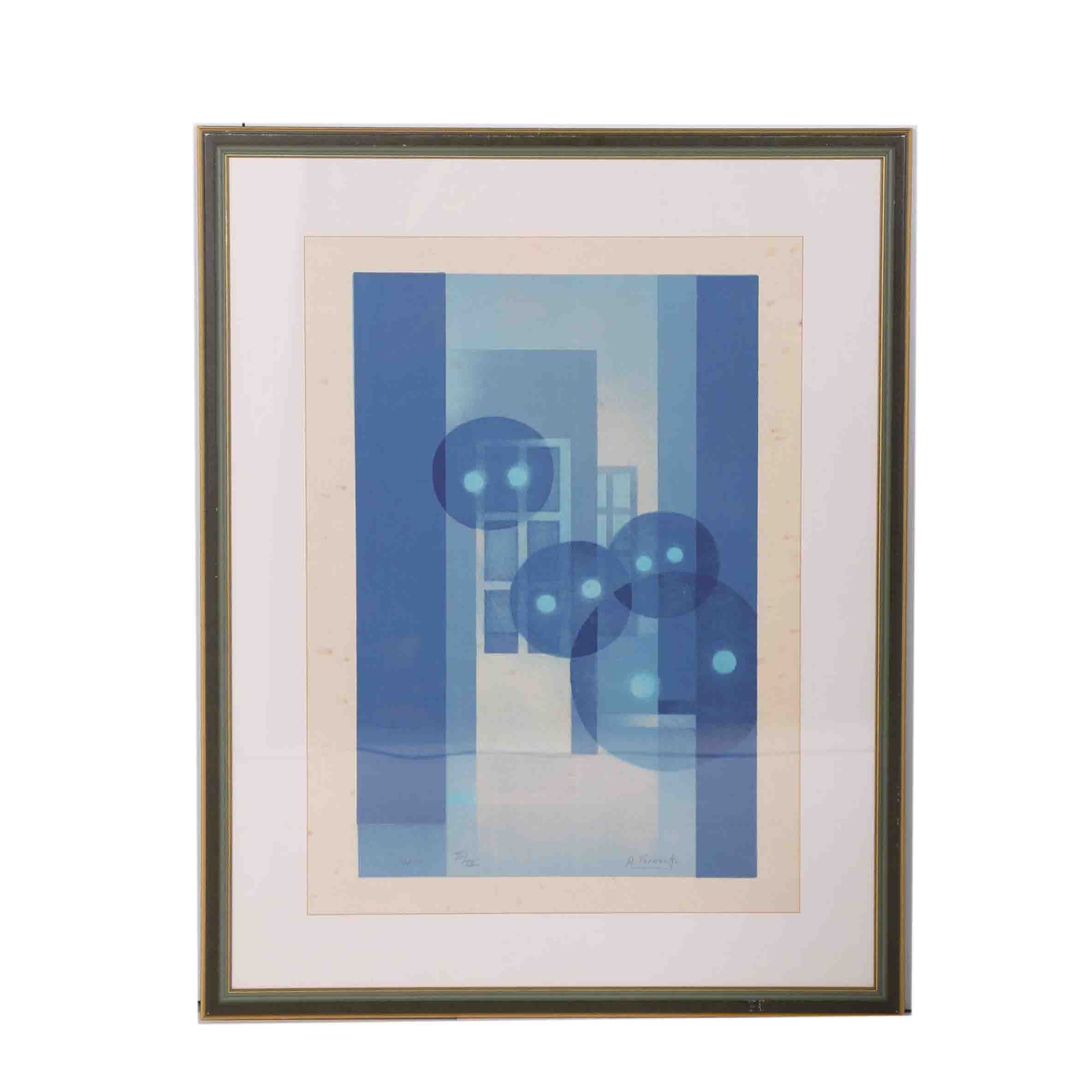 Amand Vereecke Limited Edition Lithograph on Rice Paper