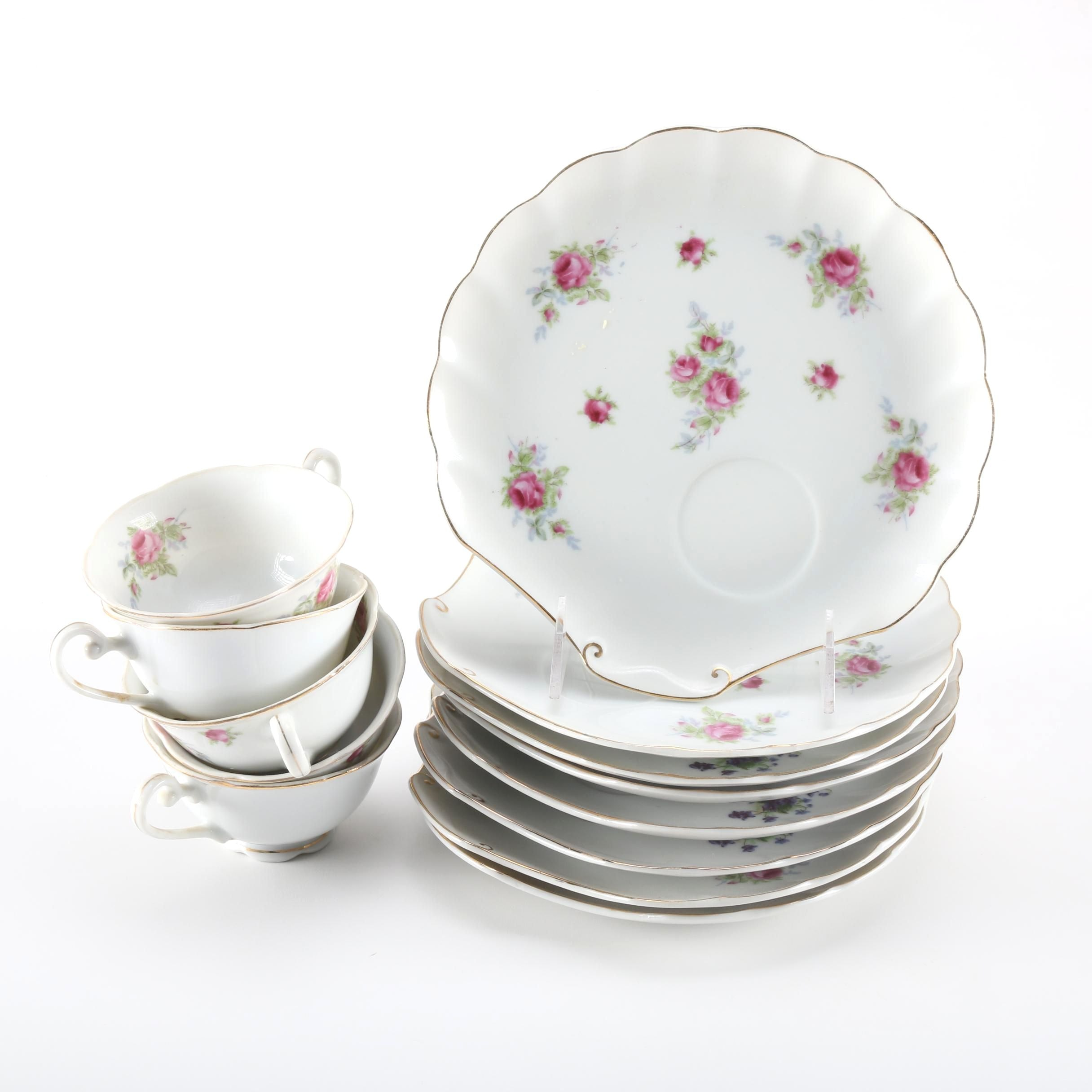 Lefton China Snack Set