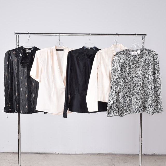 Women's Blouses Including Dana Brooke and Christian Aujard