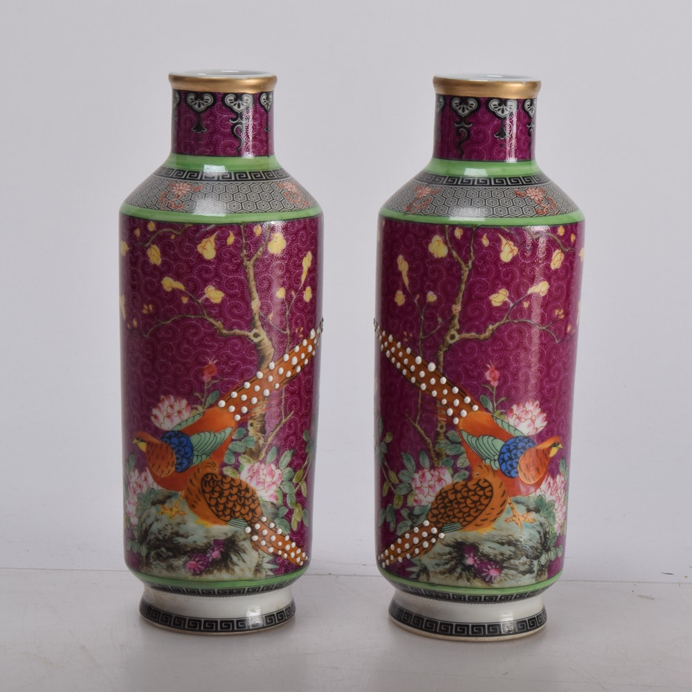 Matching Chinese Porcelain Vases