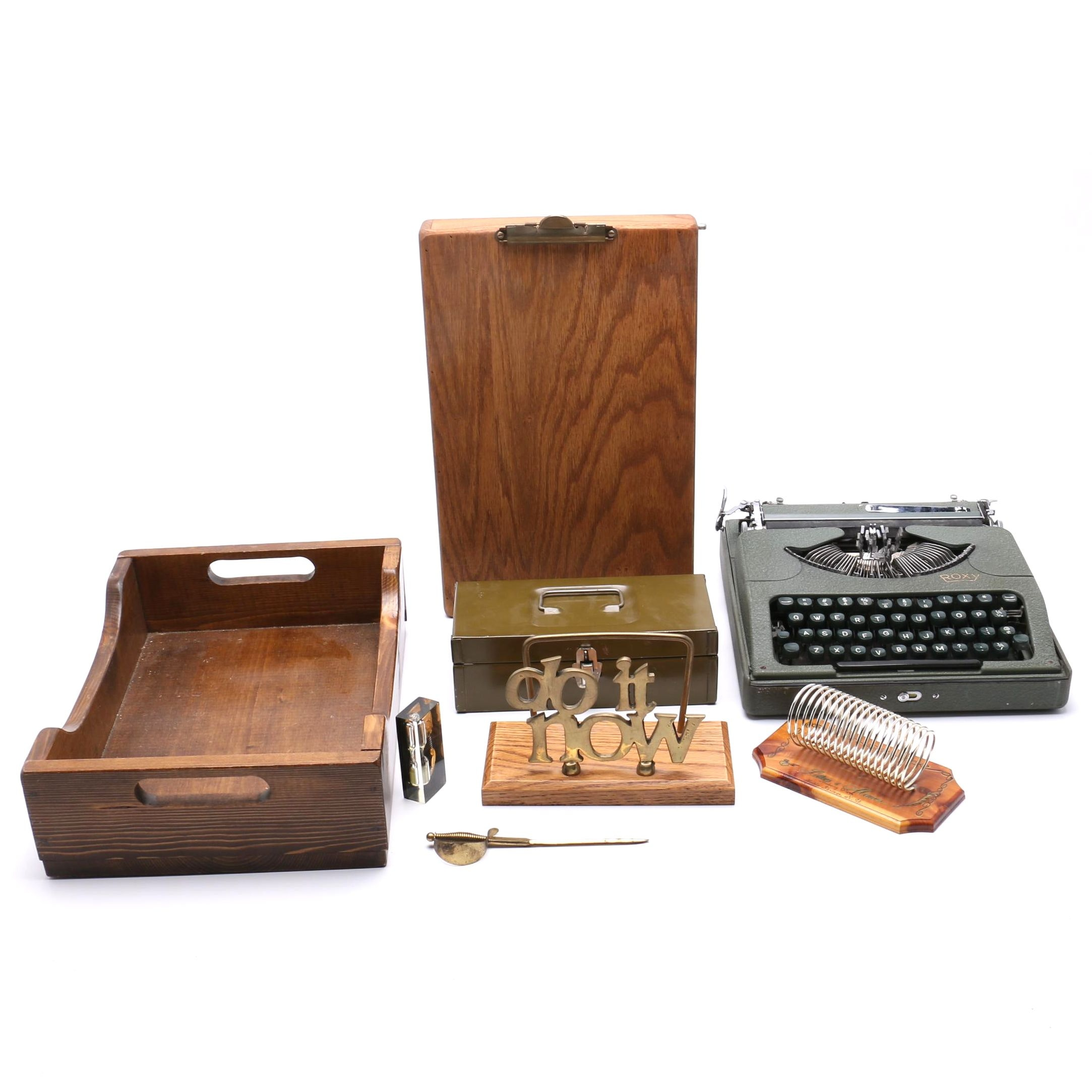 Vintage Desk Accessories ...