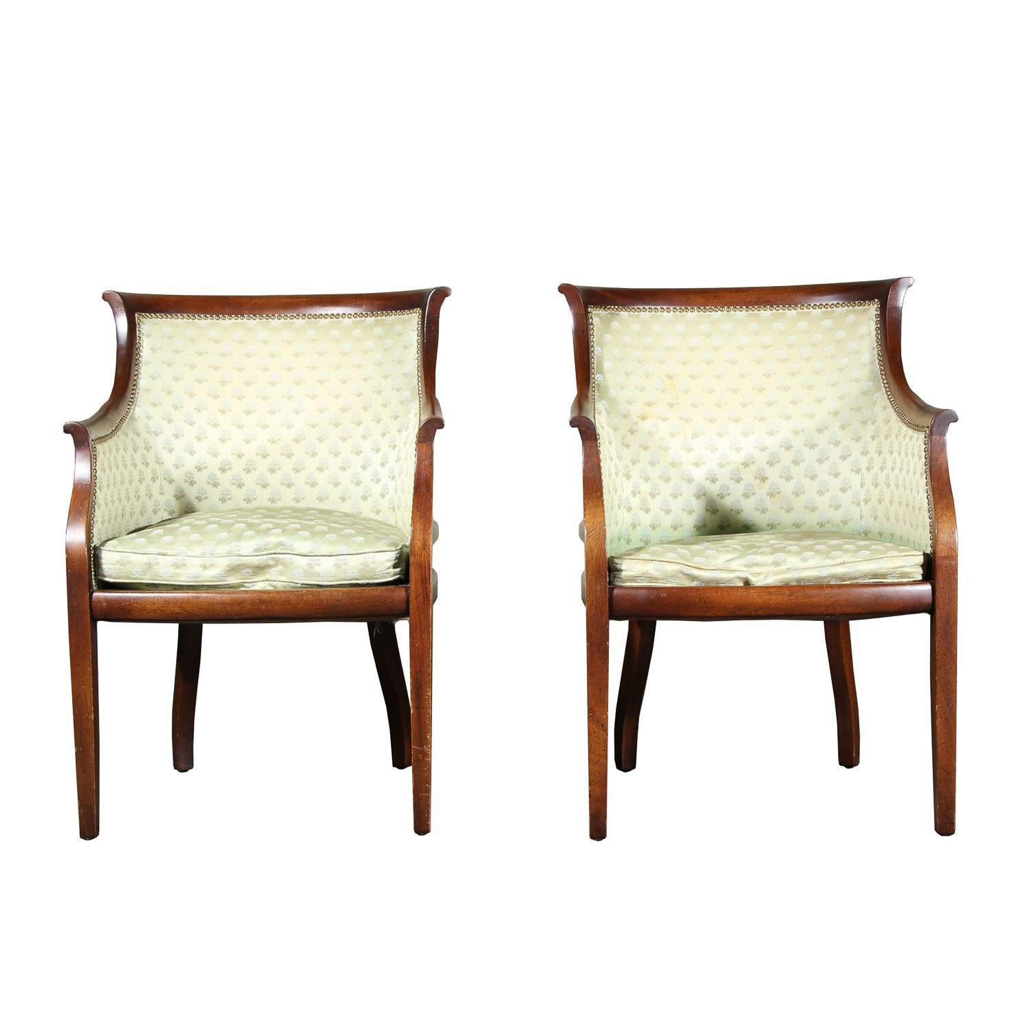 Pair Of Hickory Armchairs