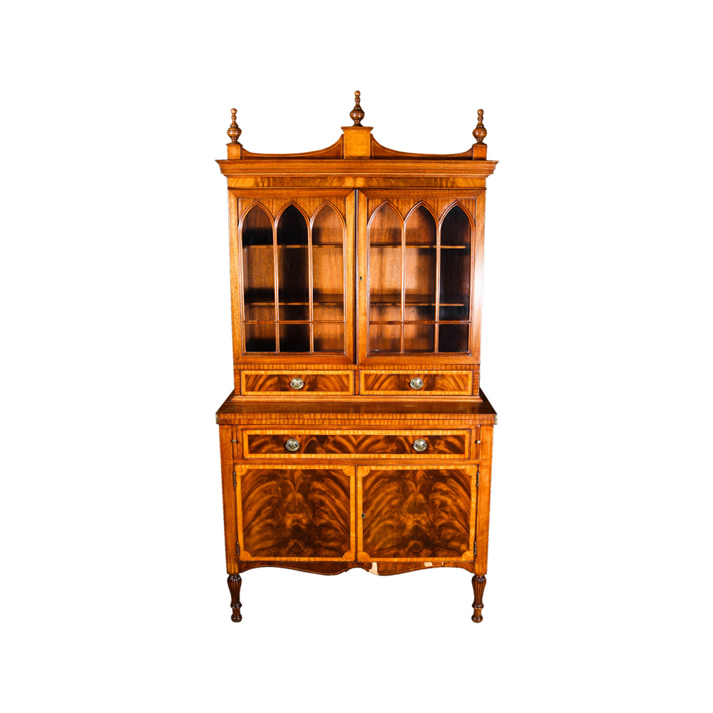Vintage Tell City Furniture China Cabinet : EBTH