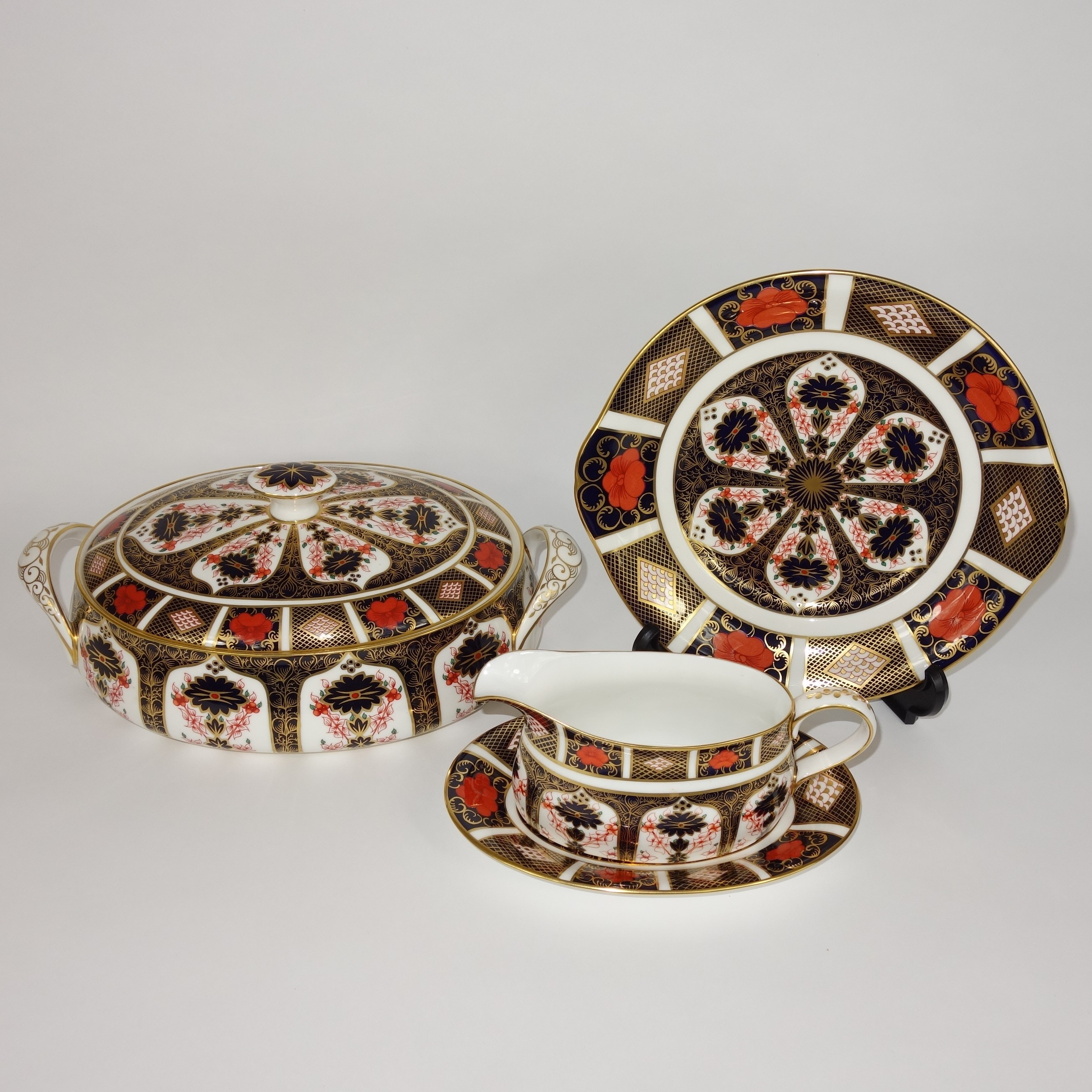 "Seventy-Three Pieces ""Old Imari"" by Royal Crown Derby"