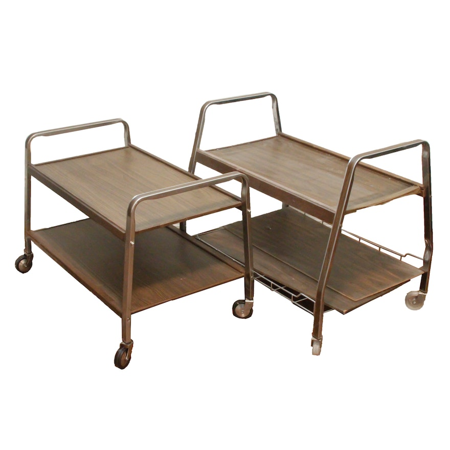 Vintage Rolling Carts By Gusdorf