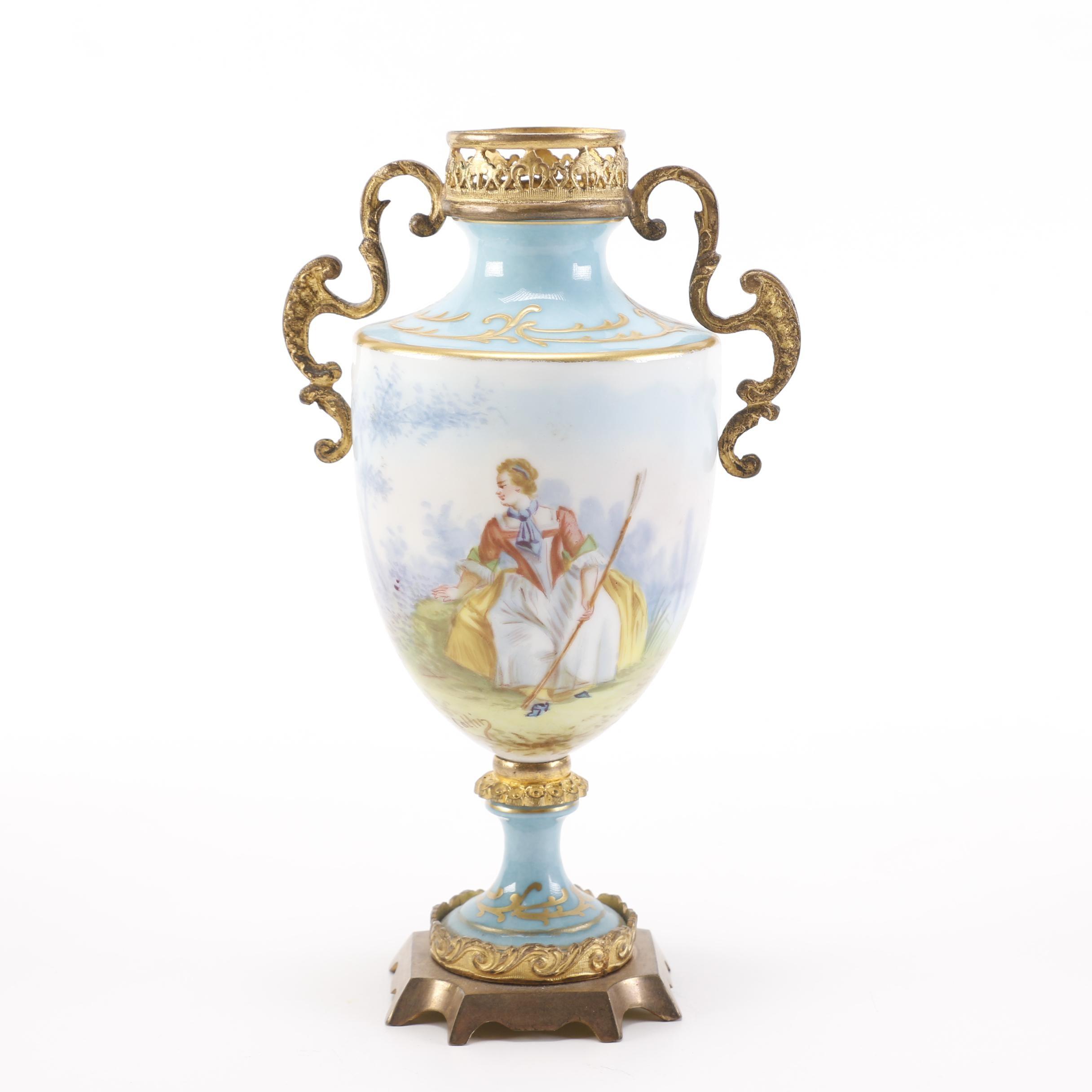 Antique Sèvres Porcelain Urn