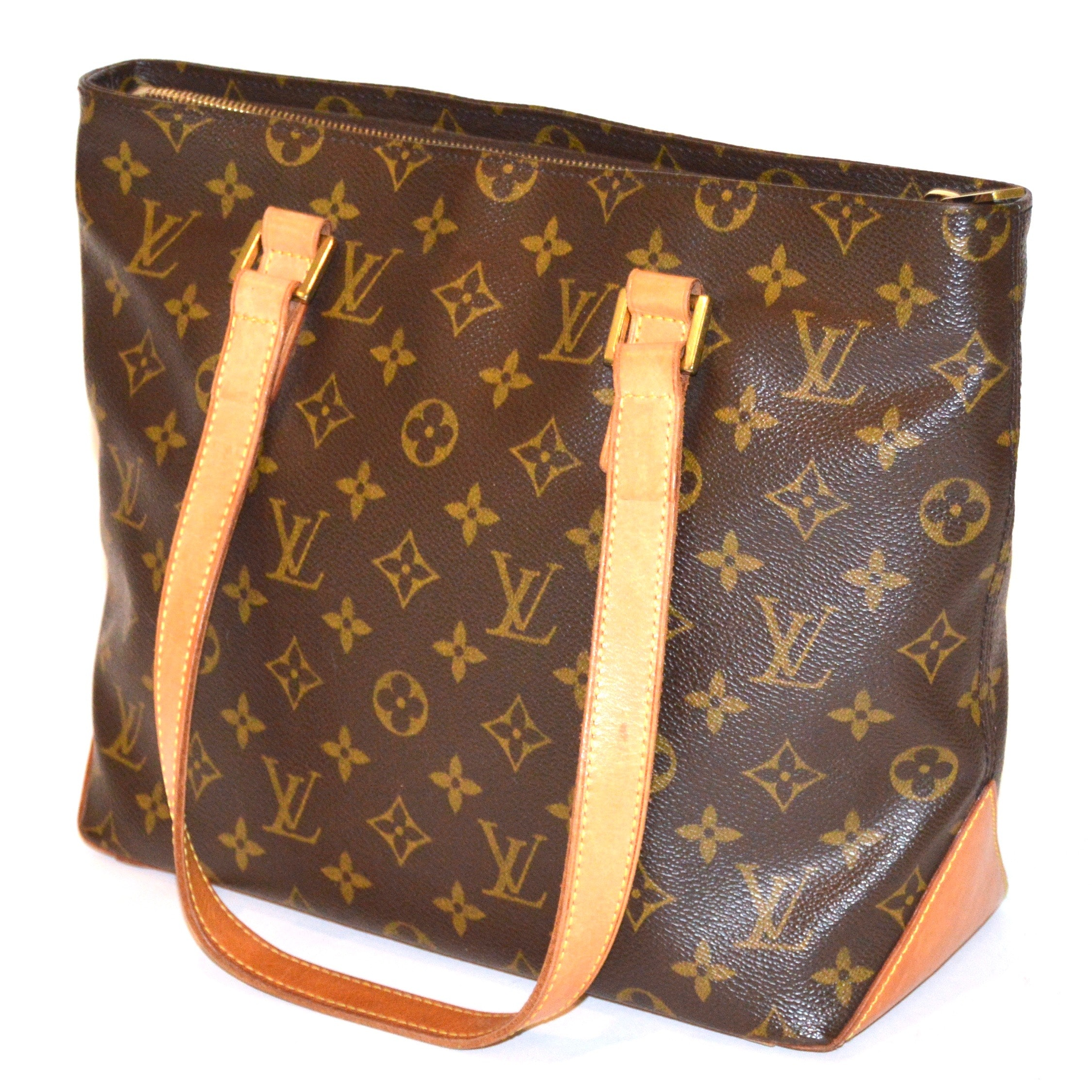 Louis Vuitton Monogrammed Canvas Cabas Piano Tote