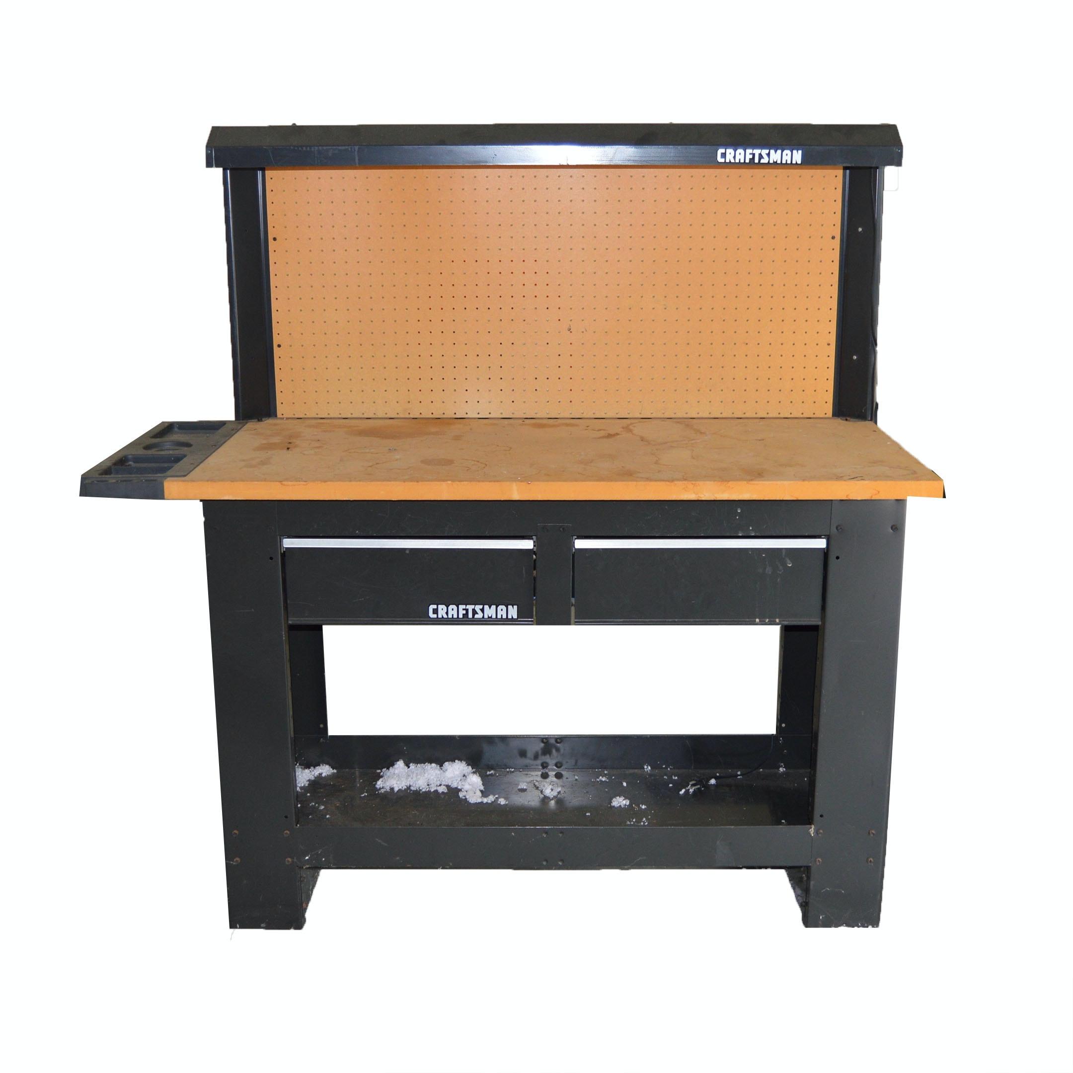 Craftsman Work Shop Tool Bench ...