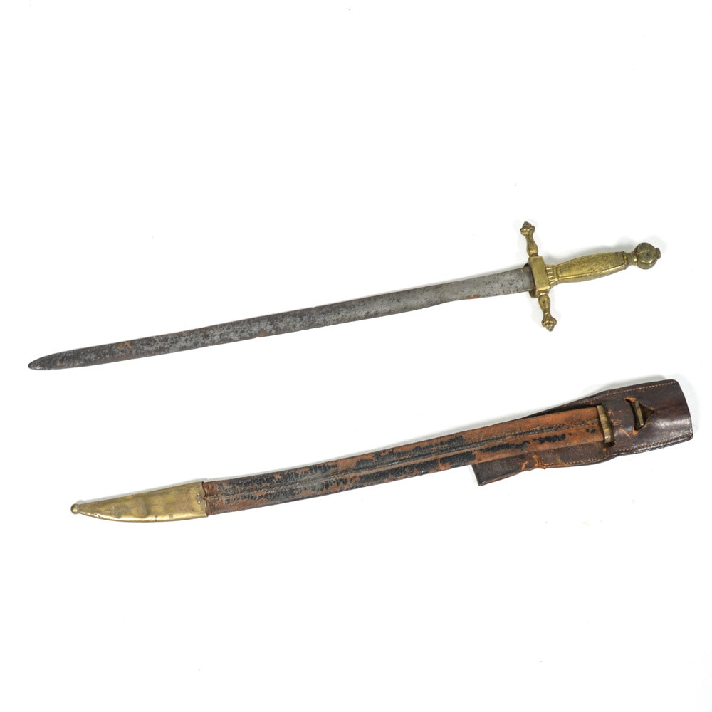 Antique Musician Sword from Spanish American War