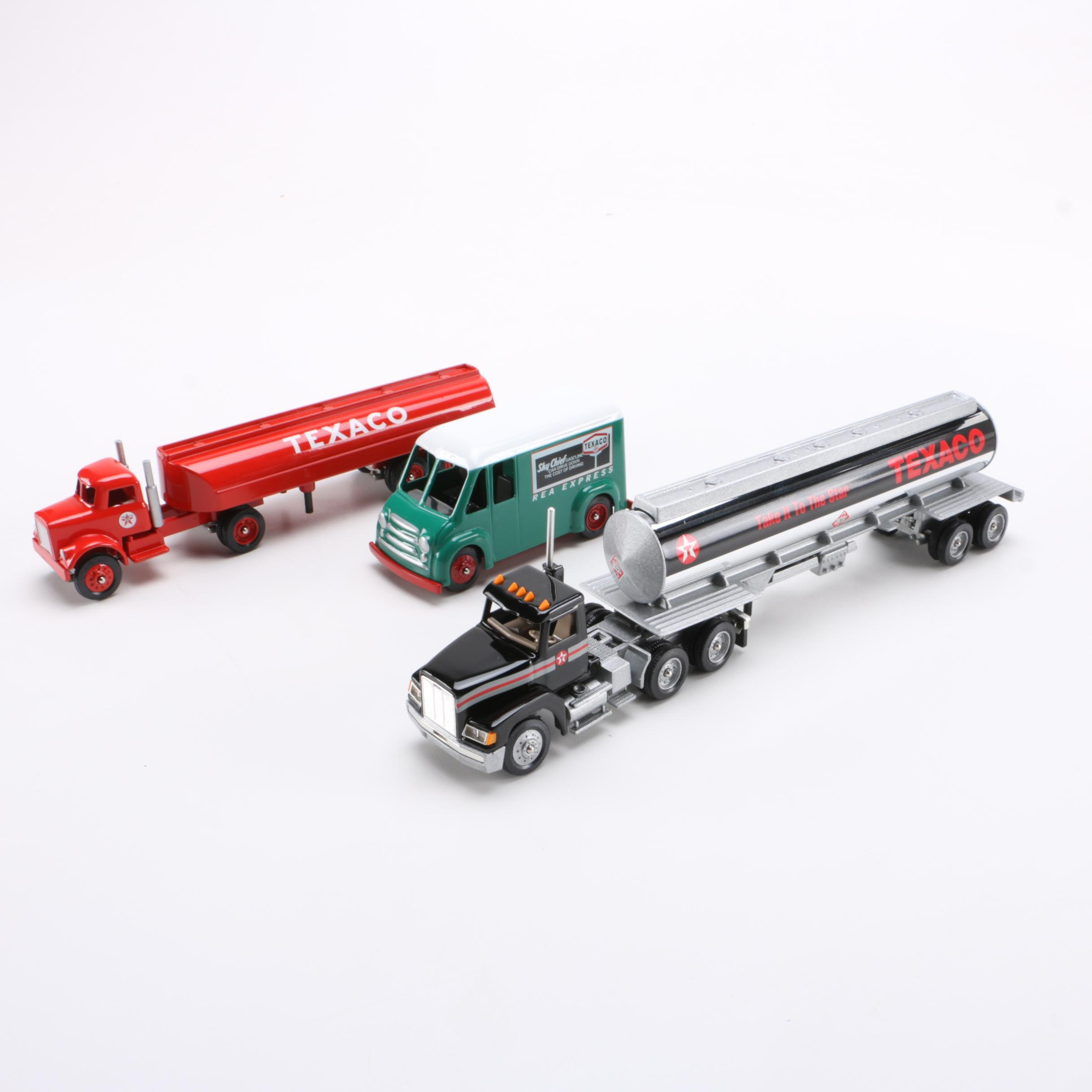 Texaco Themed Winross Trucks