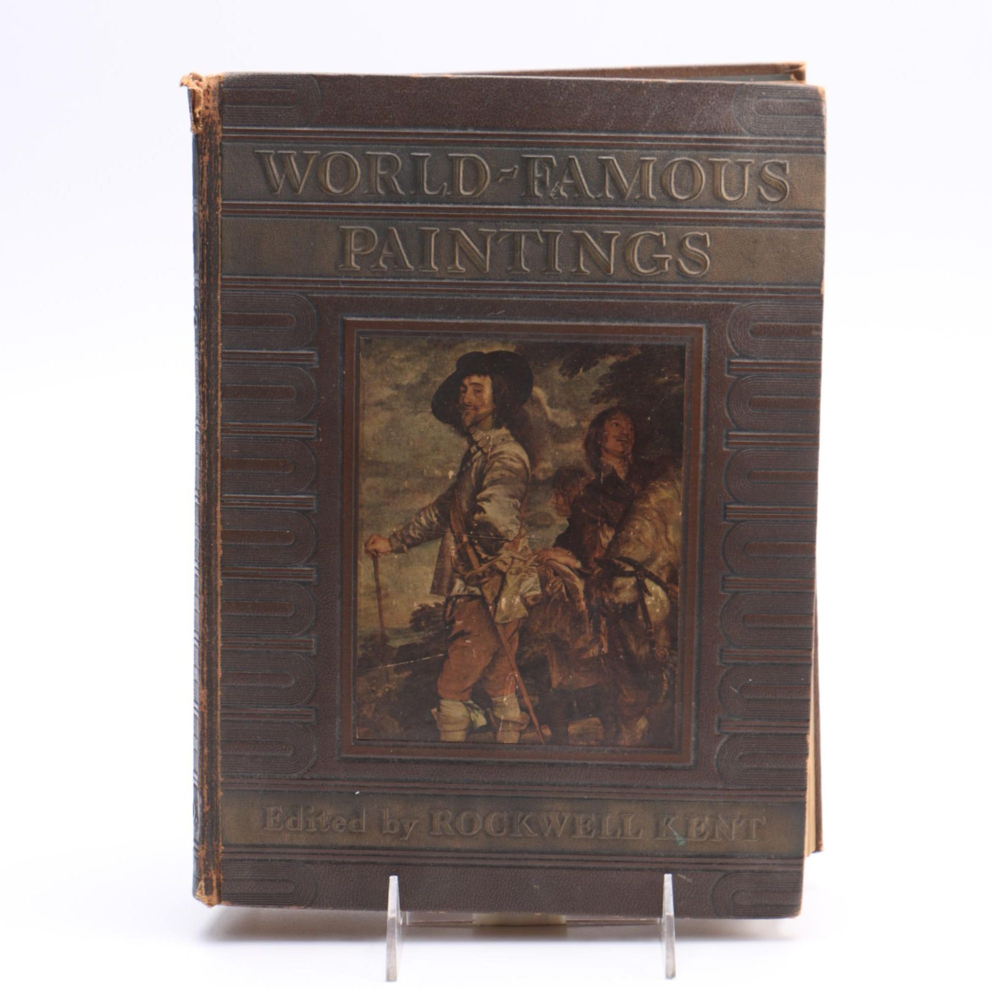 """1939 """"World-Famous Paintings"""" Book"""