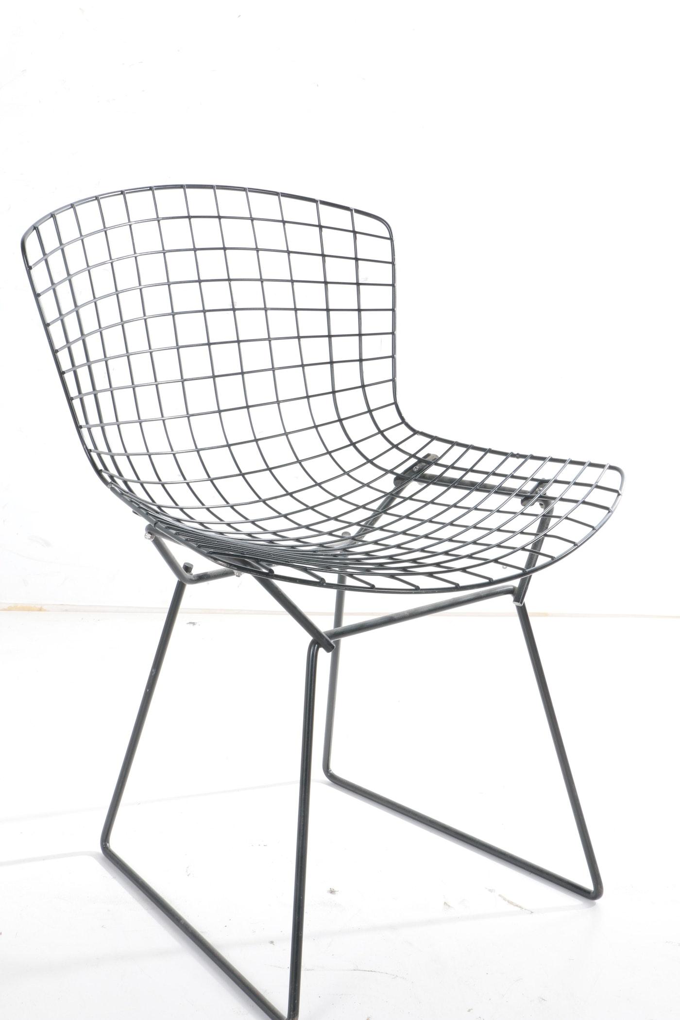Mid Century Modern Metal Chair Ebth