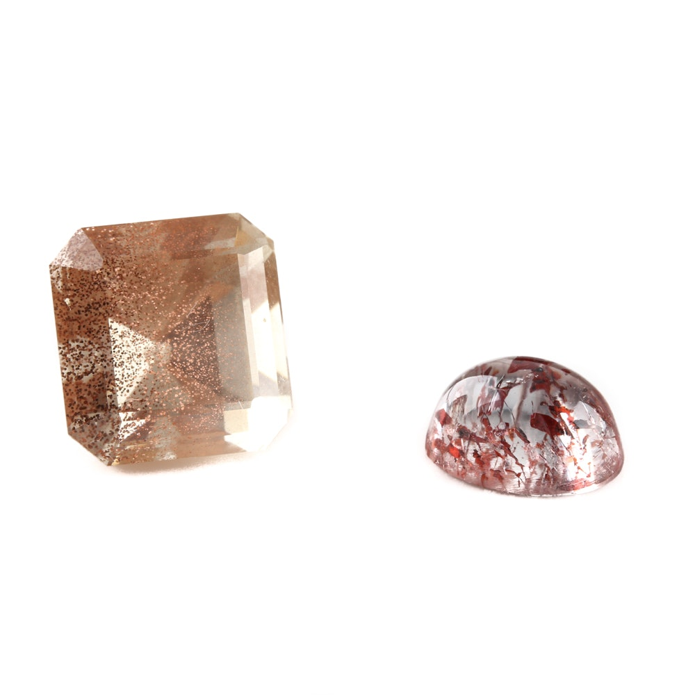 Loose Sunstone and Lepidocrocite