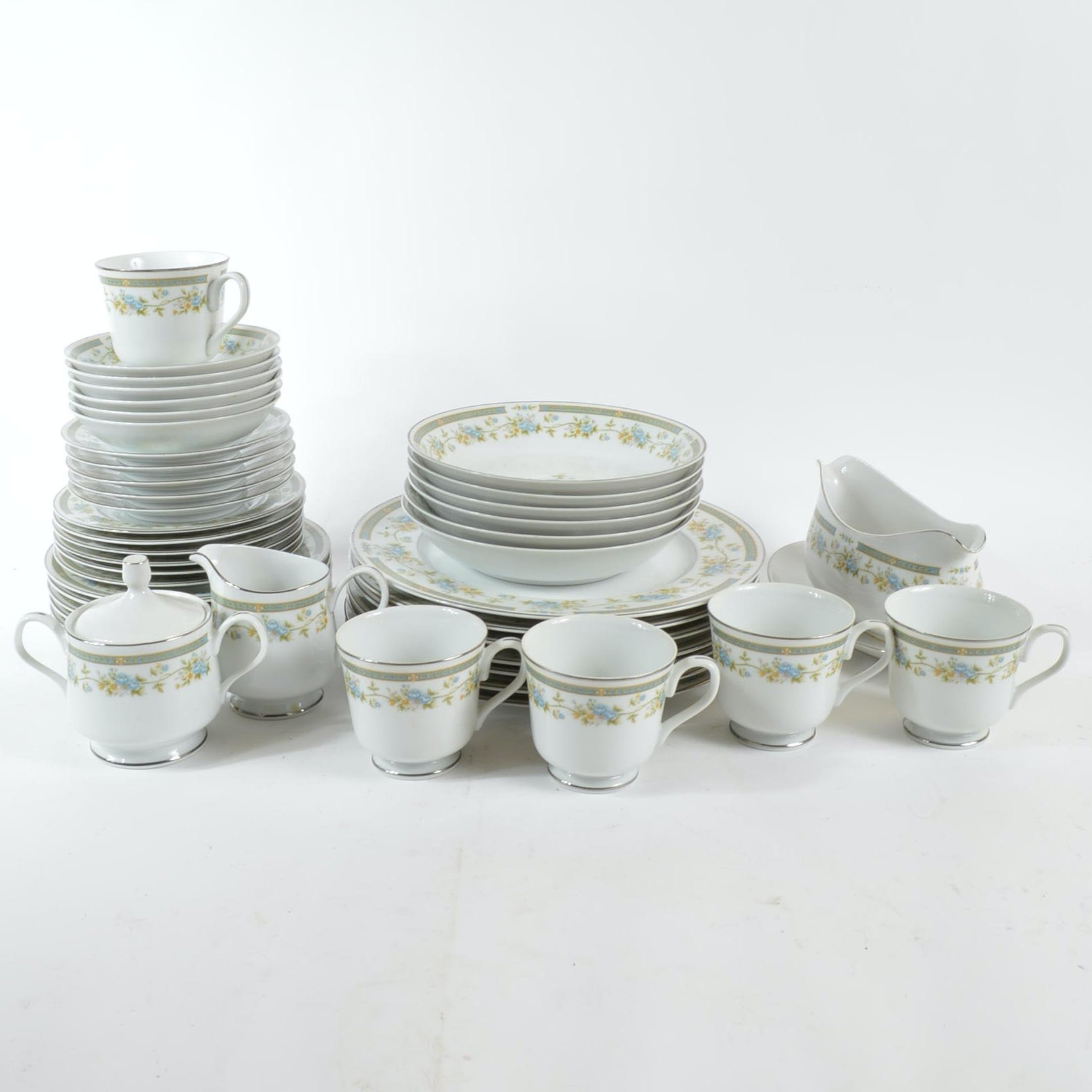 "Four Crown China ""Barclay"" Dinner Ware"