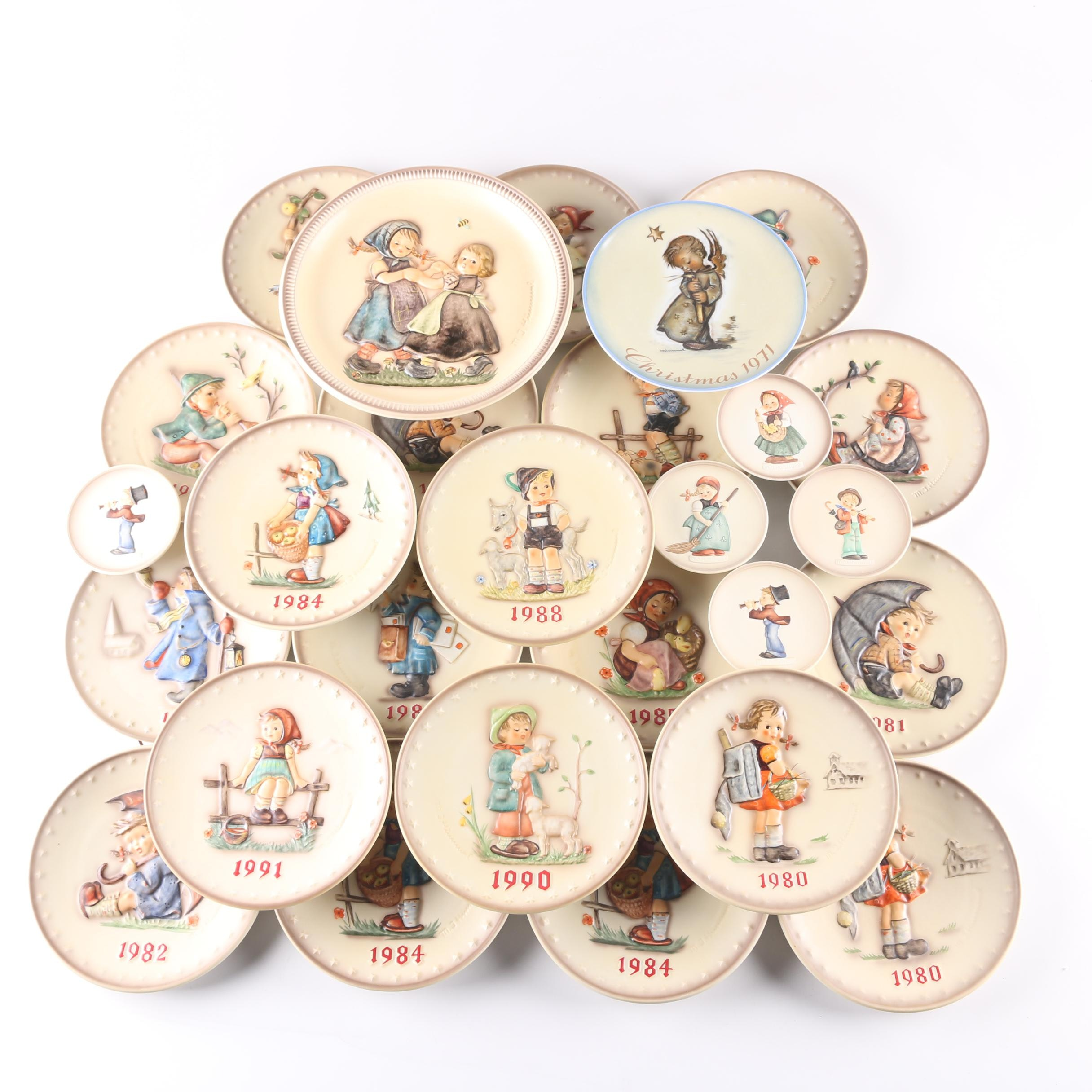 Hummel Plate Collection