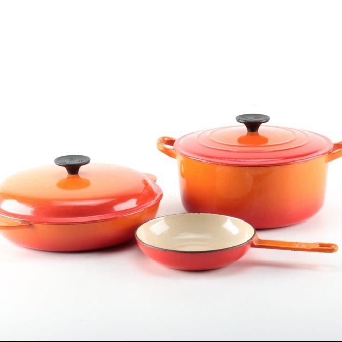 Le Creuset Cast Iron Cookware Set