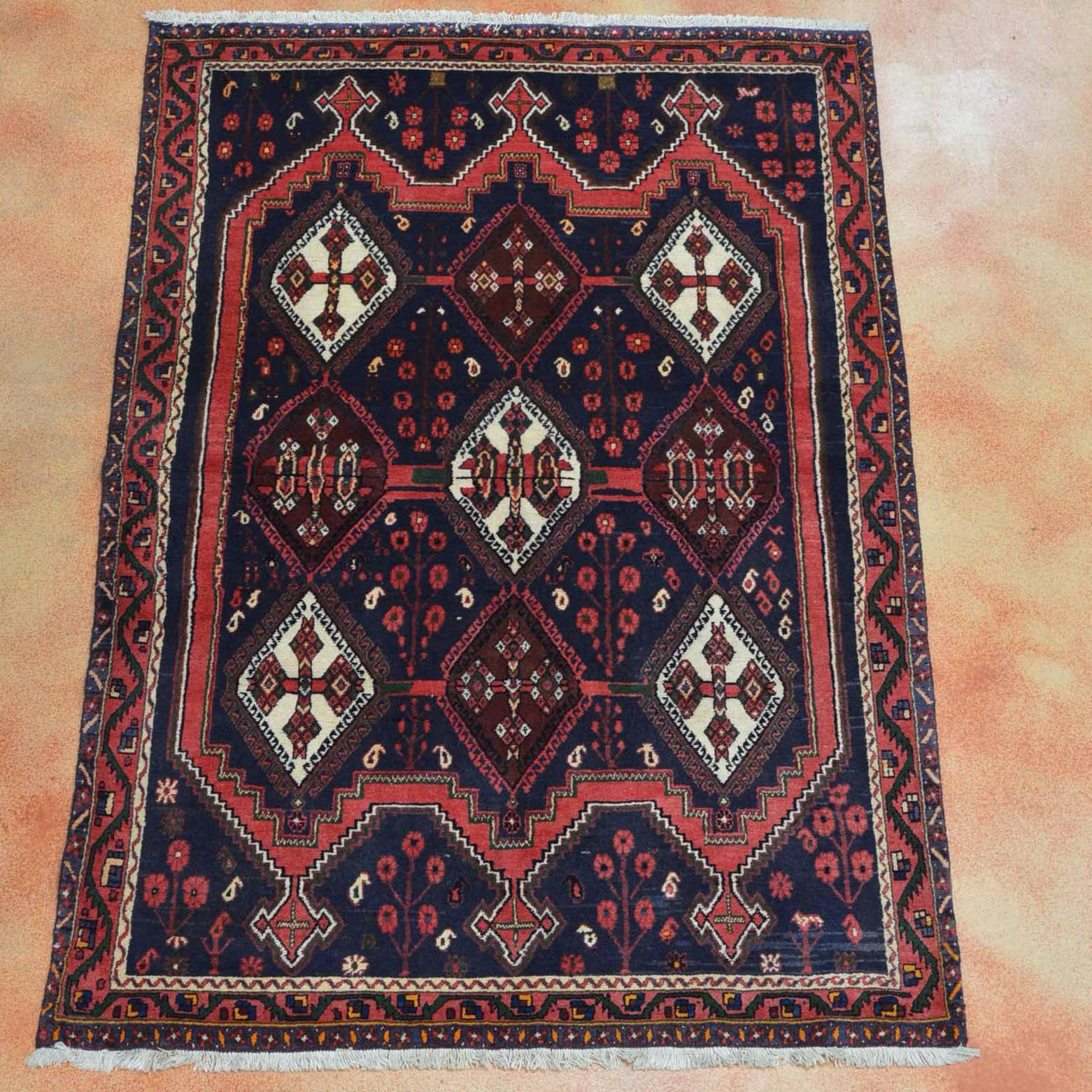 Hand Knotted Sirjan Afshar Area Rug
