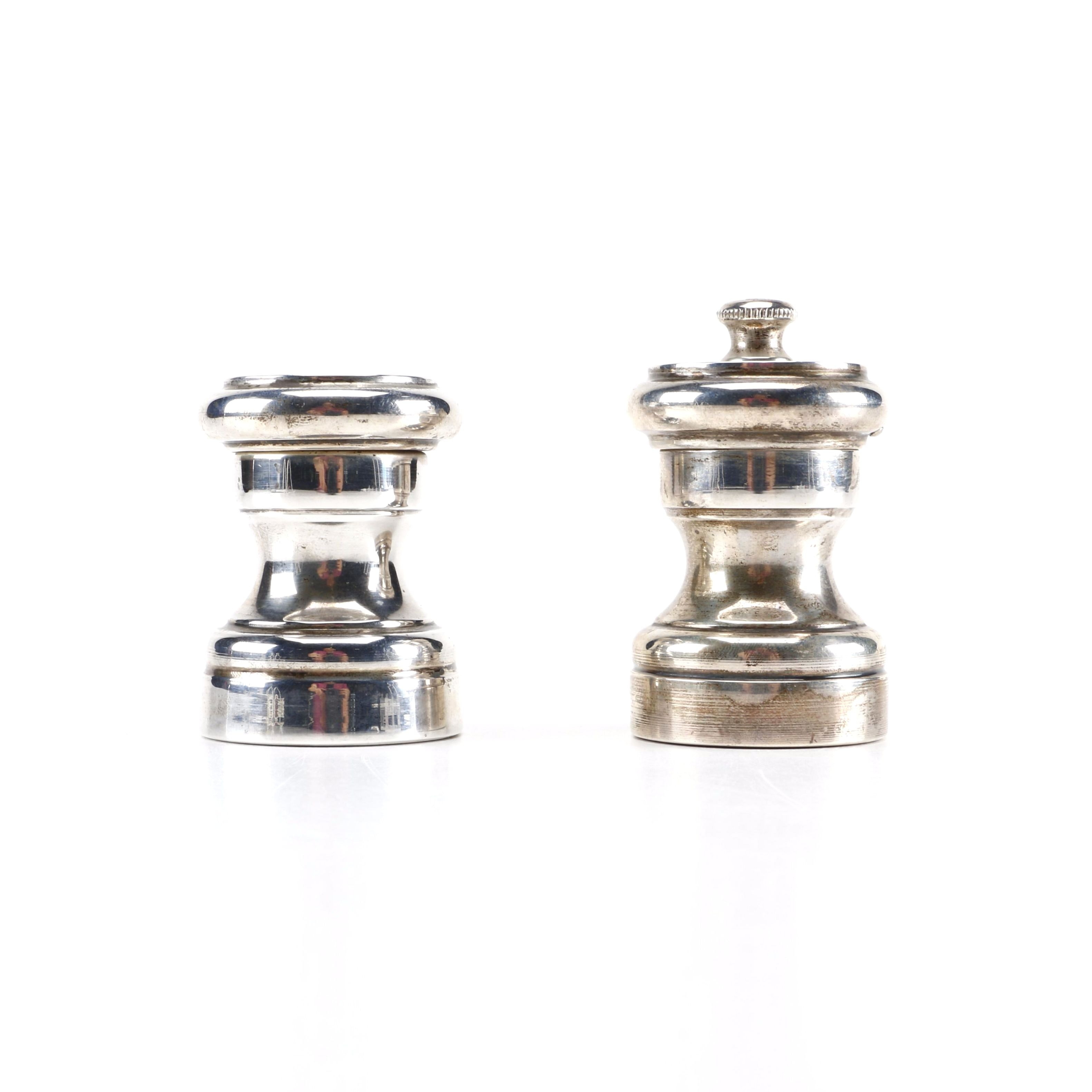 Tiffany & Co. Sterling Silver Salt Shaker and Pepper Mill