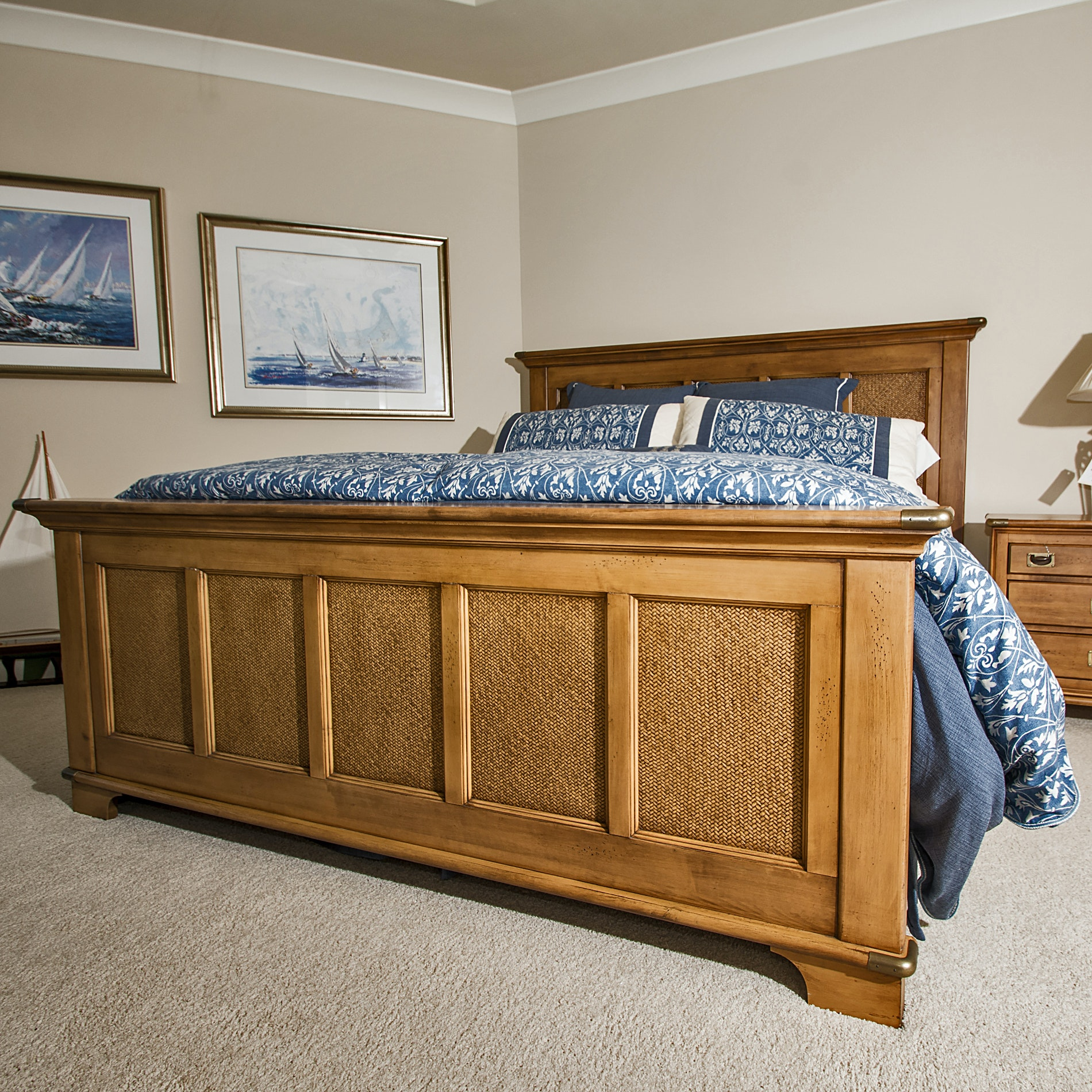 Lexington Furniture Nautica Home King Size Bed ...