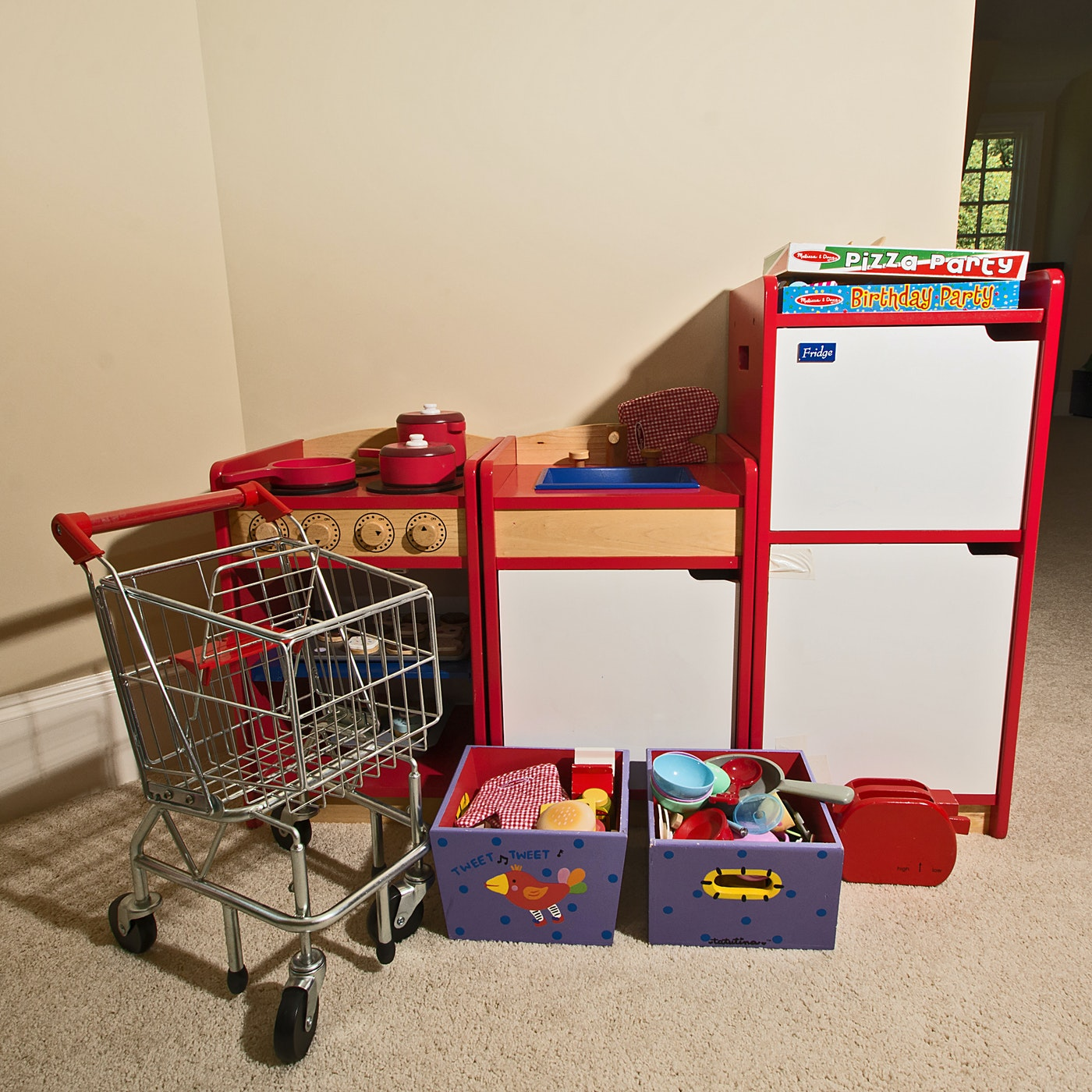 Melissa Doug Play Kitchen And Accessories Ebth