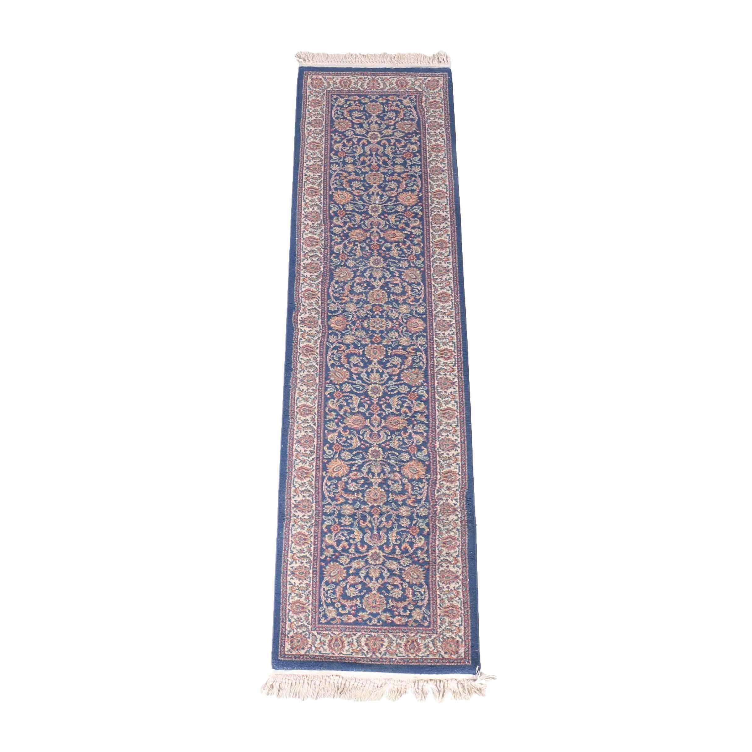 "Machine Woven Classic Treasures ""Kashan"" Carpet Runner"