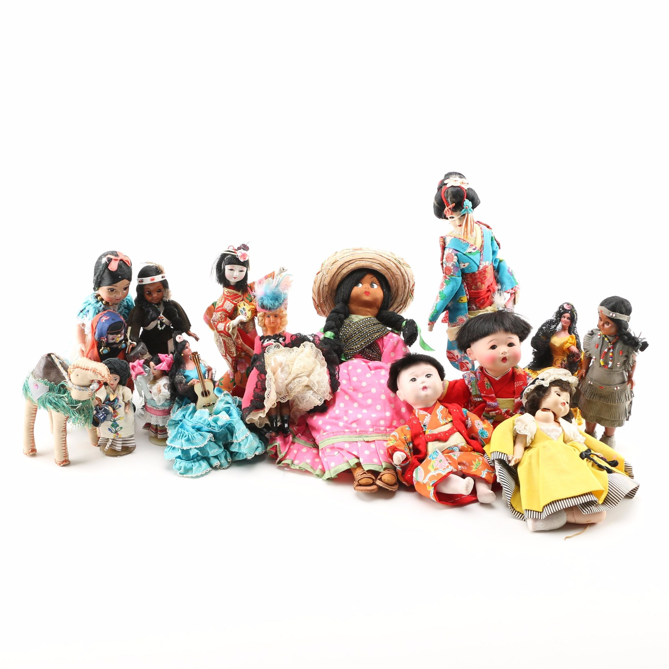 International Themed Dolls and Stuffed Toy