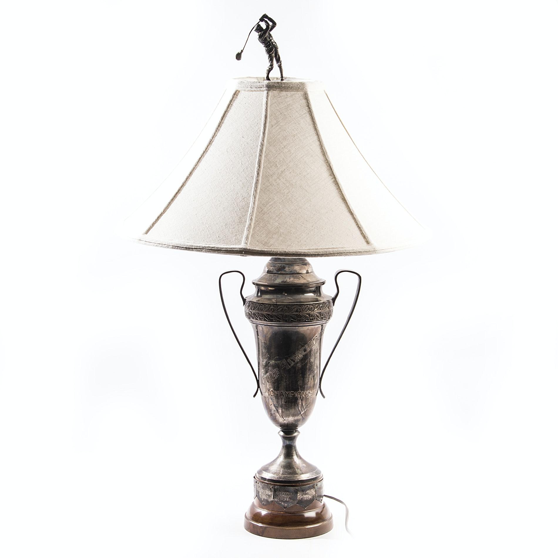 Golf Association Championship Trophy Lamp ...