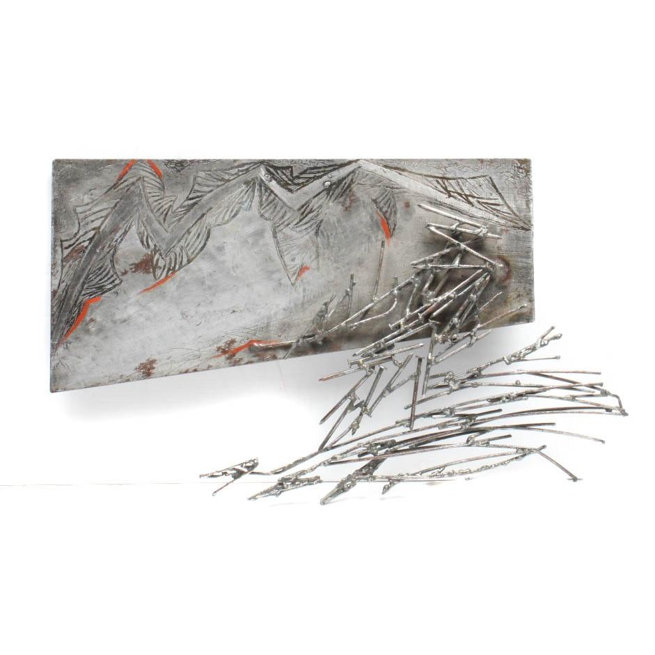 """Gabriela Perez Guiata """"Ribbons"""" Sculpture"""