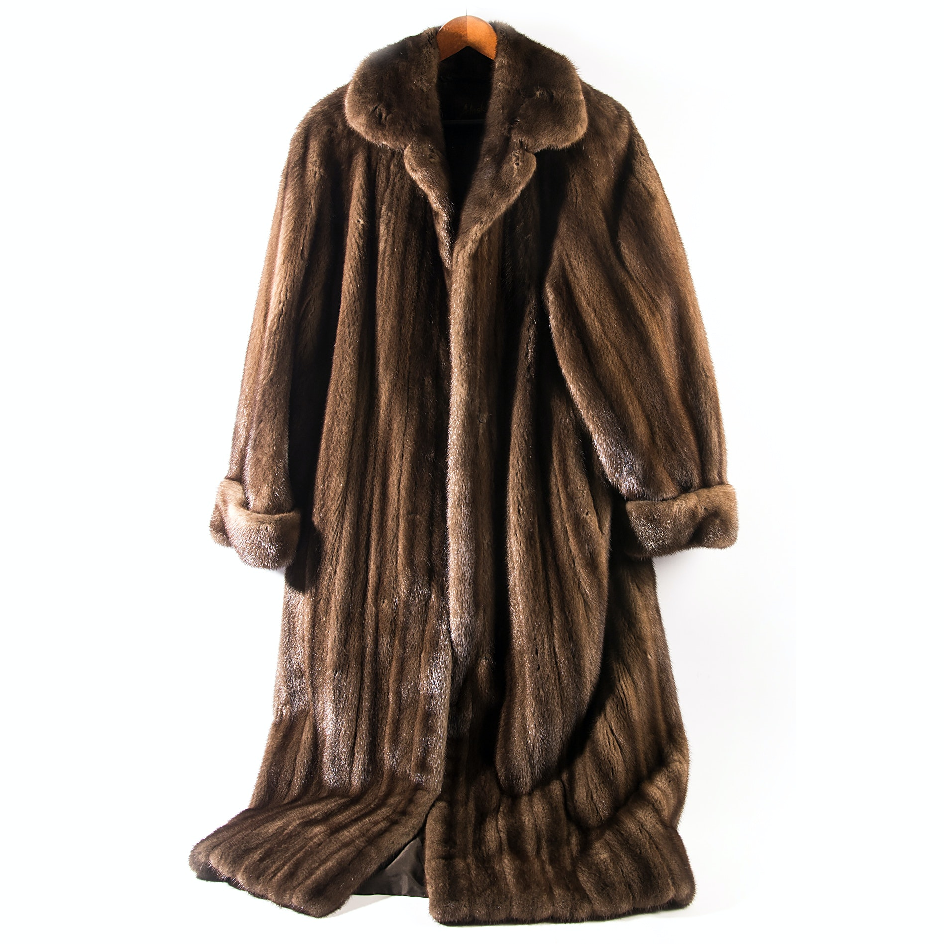 Full-Length Beaver Fur Coat