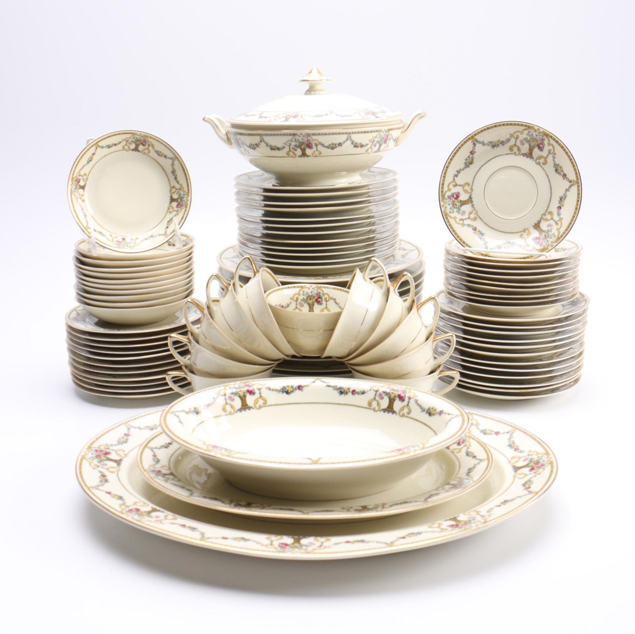 """HC238"" Heinrich & Co. Bavarian China Set"