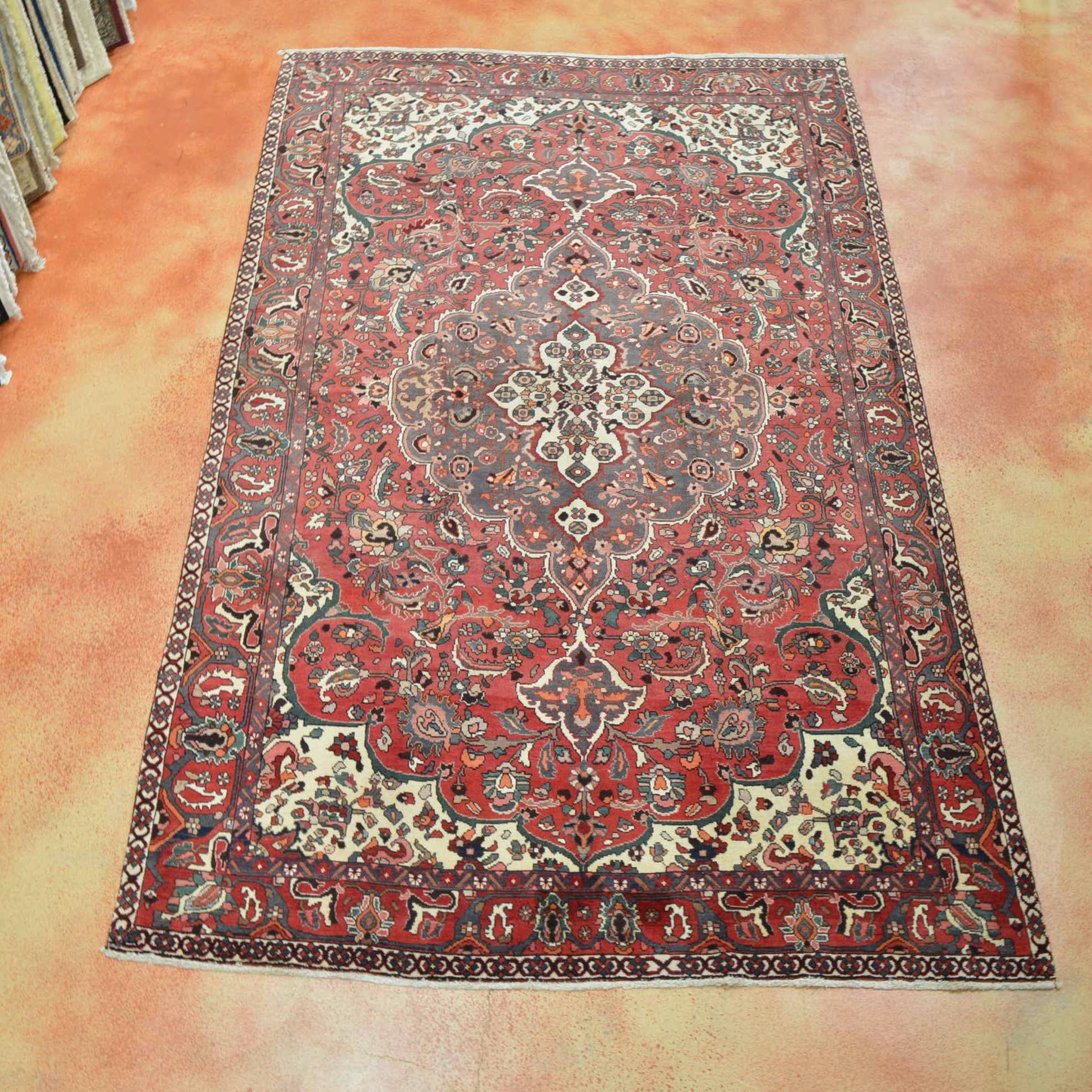 Hand Knotted Bakhtiari Area Rug