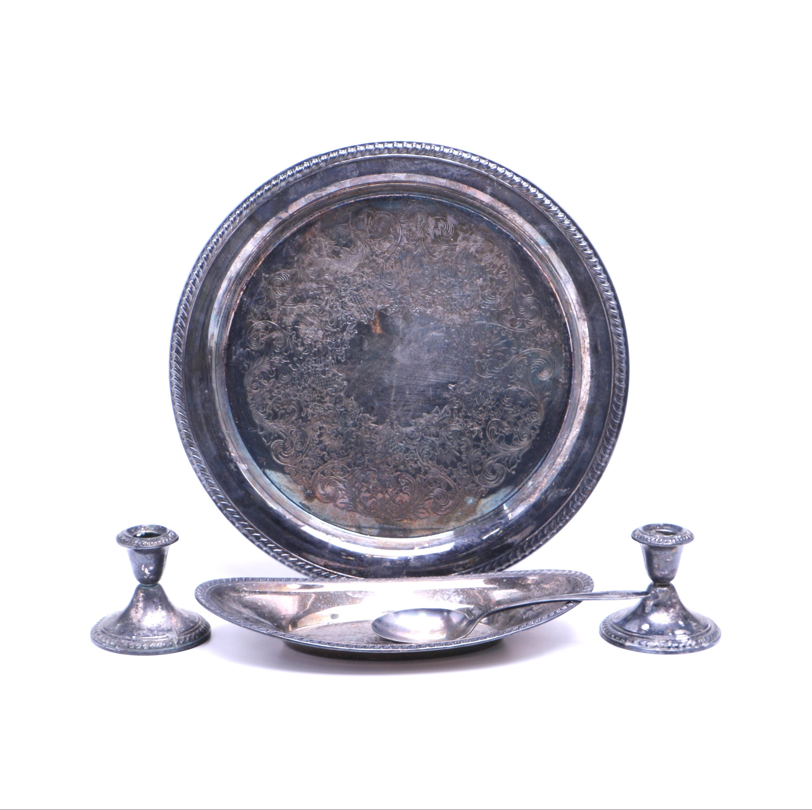 Silver Plate Tableware Collection