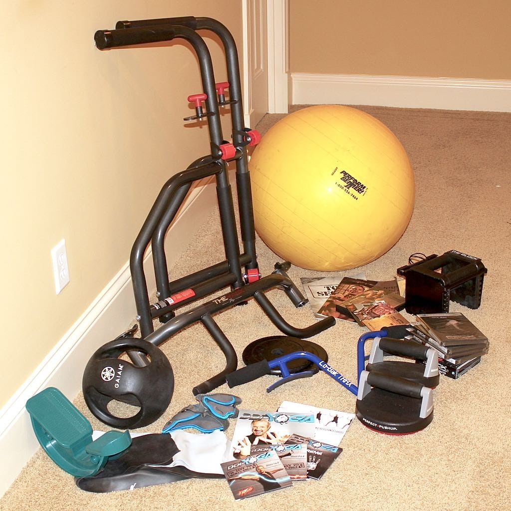 Mixed Fitness Aids Group includes P90X