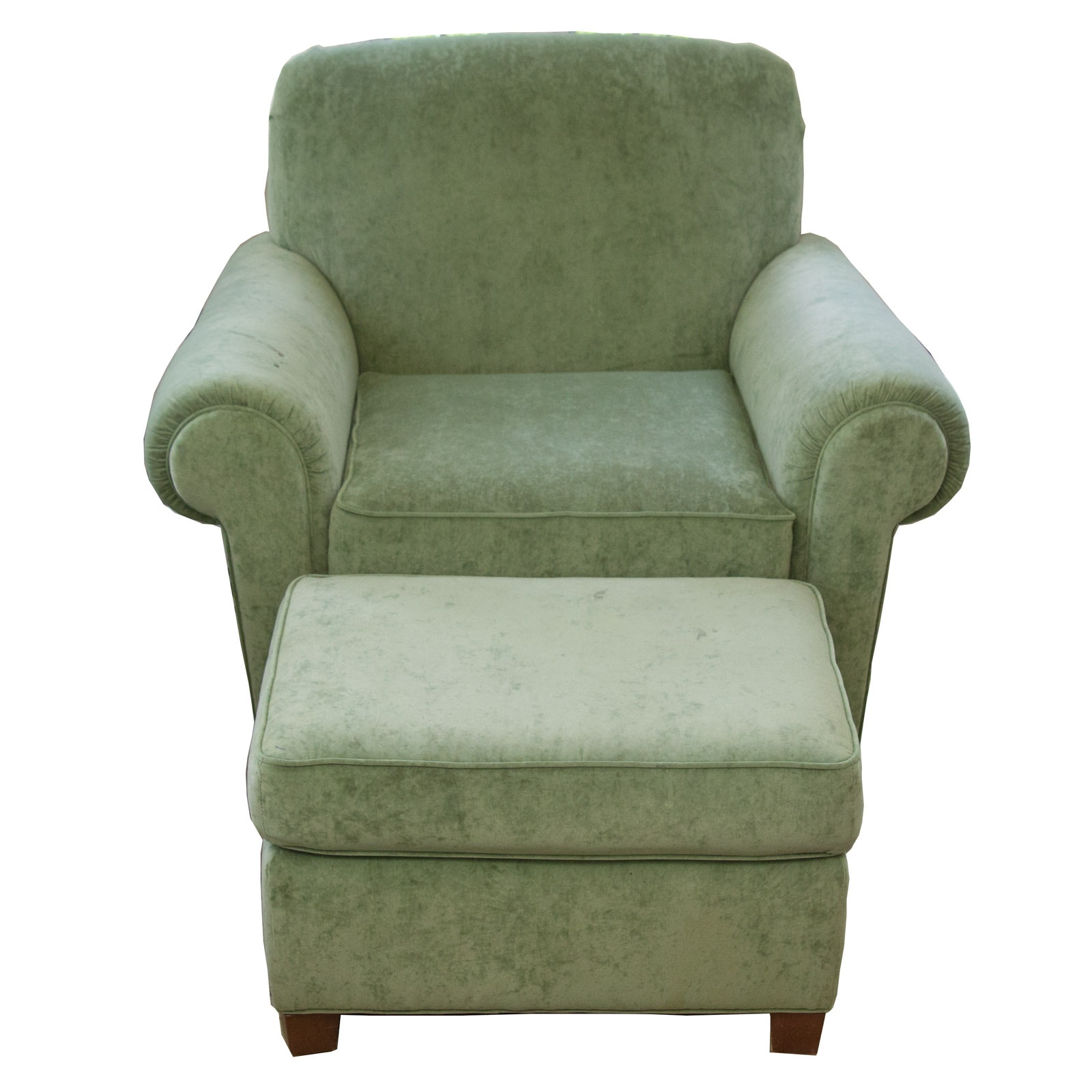 Norwalk Furniture Armchair With Ottoman ...