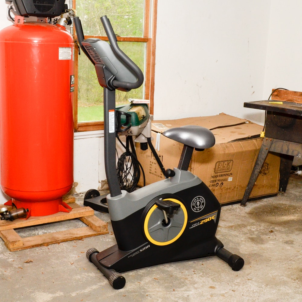 Gold's Gym Cycle Trainer 290C
