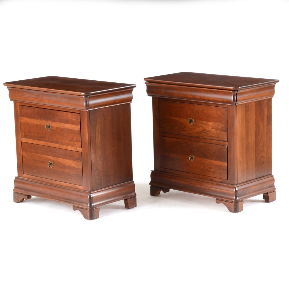 Pair of Durham Furniture Nightstands