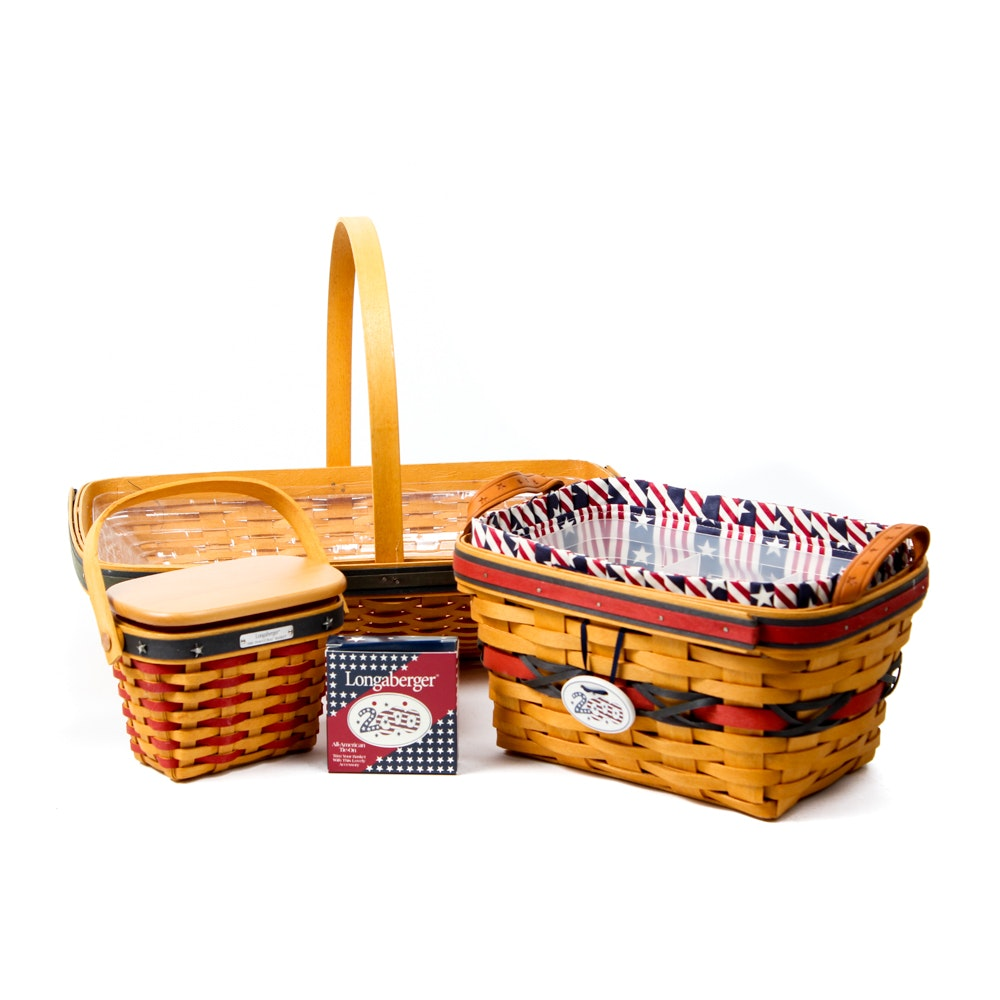 Longaberger Basket Assortment