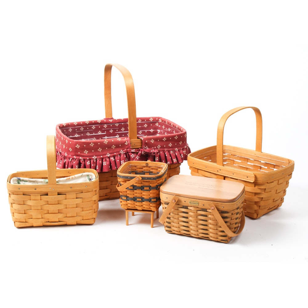 Assorted Longaberger Baskets