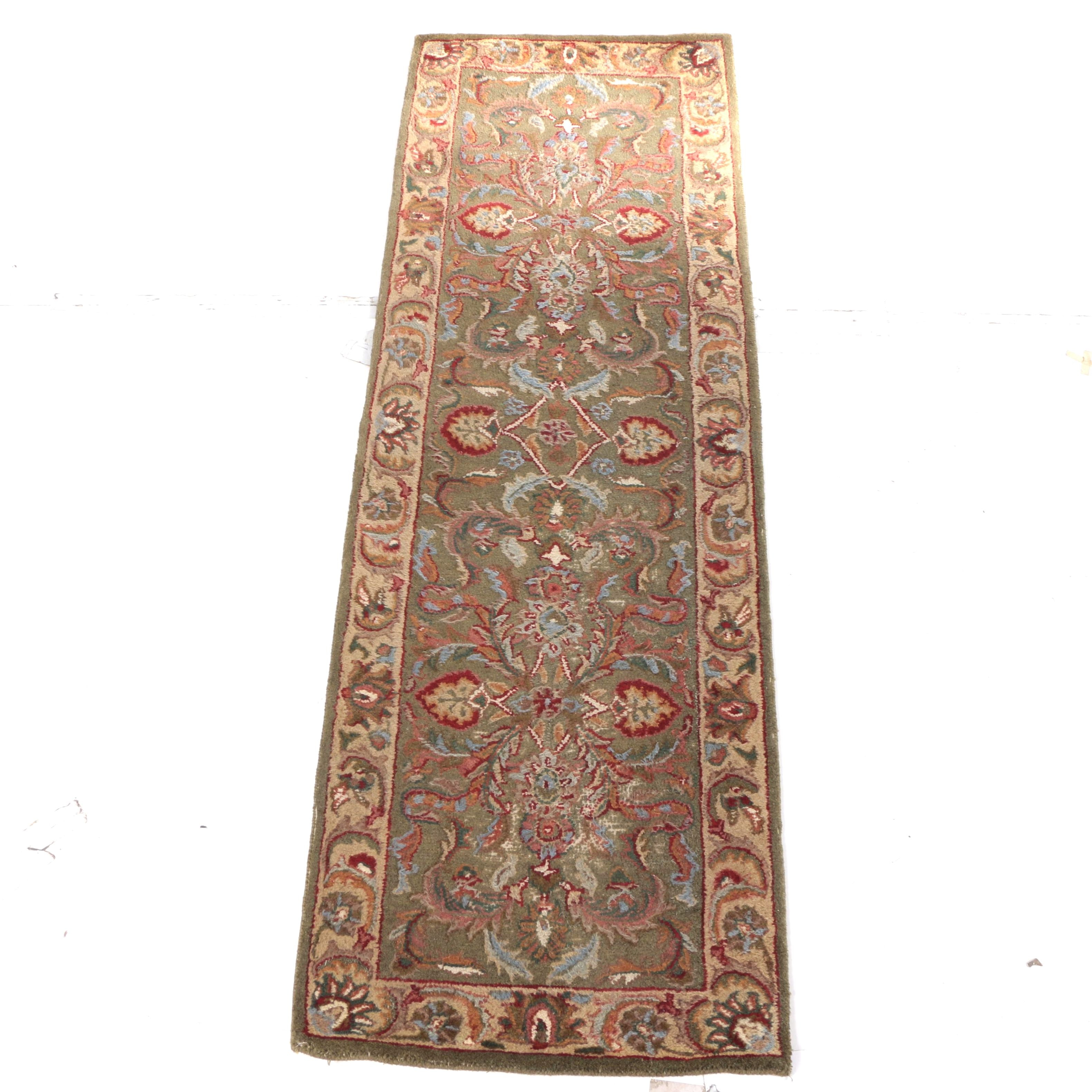 Hand-Tufted Floral Carpet Runner by Bon Motif