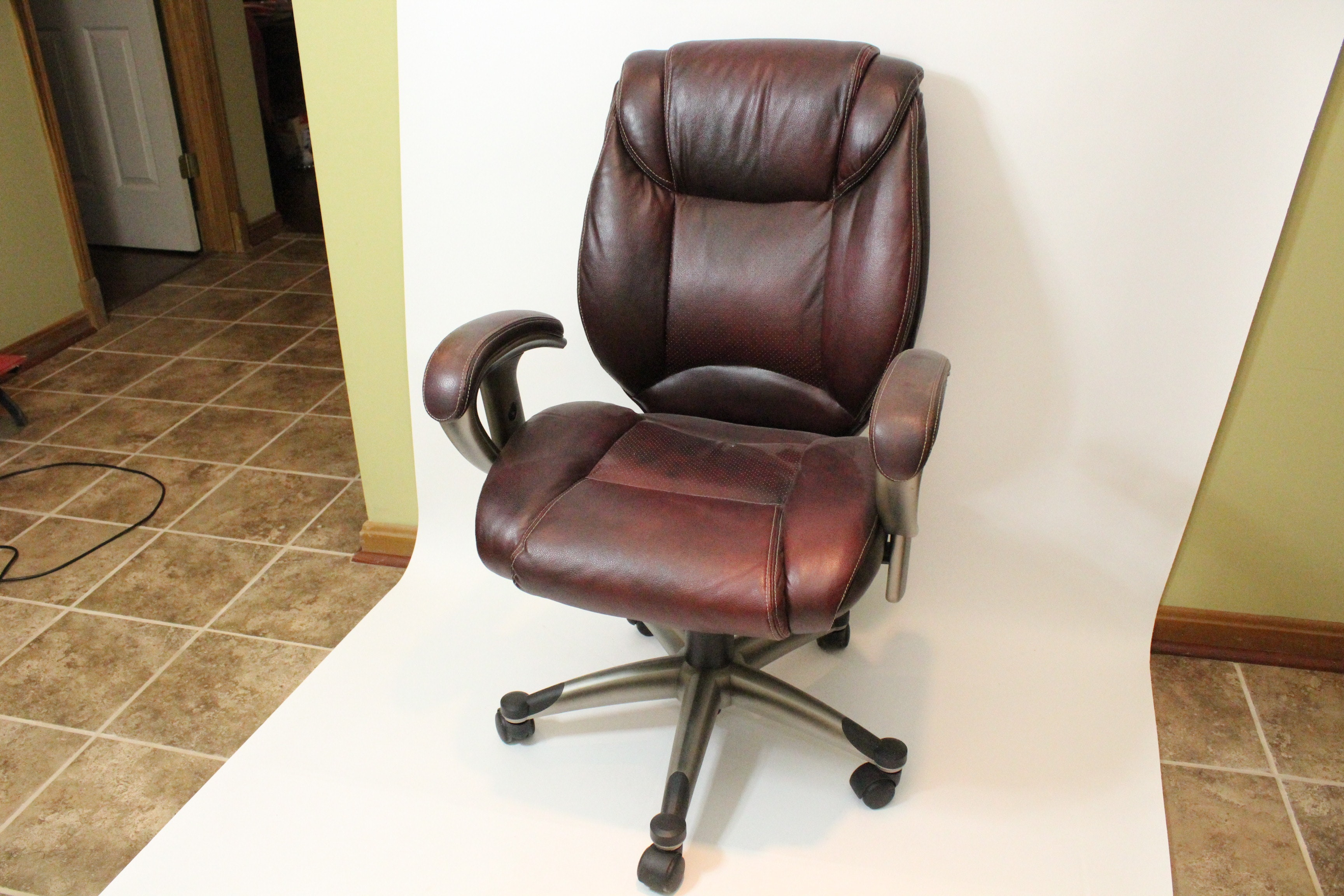 Burgundy Office Chair By Lane ...