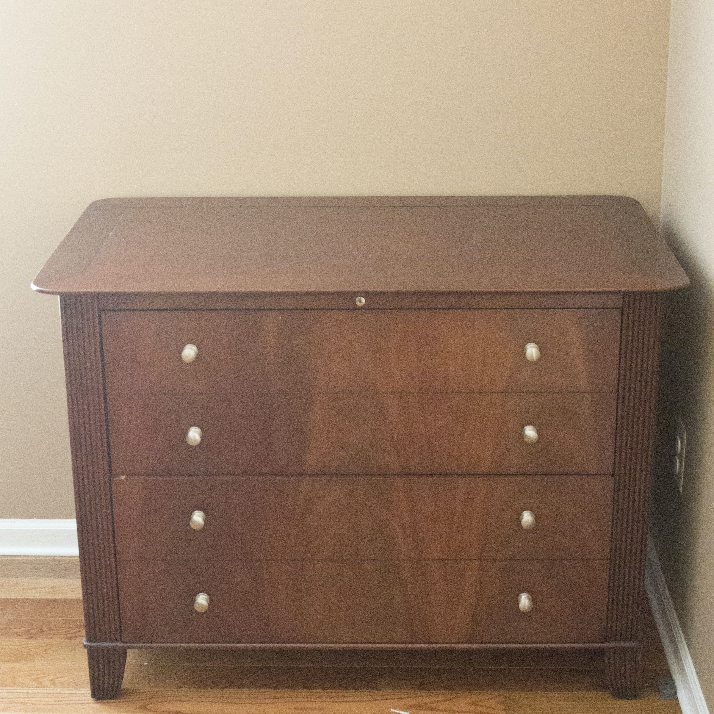 Two-Drawer Mahogany File Cabinet by Sligh ... & Two-Drawer Mahogany File Cabinet by Sligh : EBTH