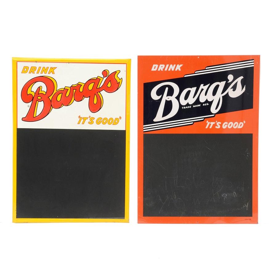 vintage barq s root beer advertisement menu boards ebth