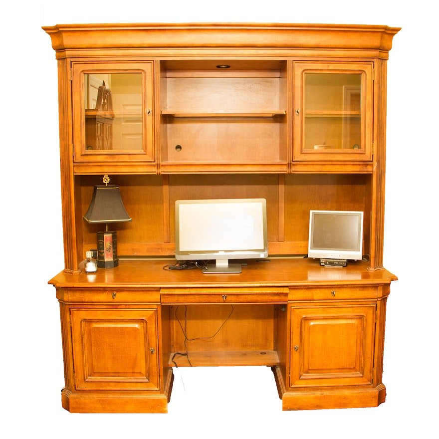 Computer Desk And Hutch By Stanley Furniture