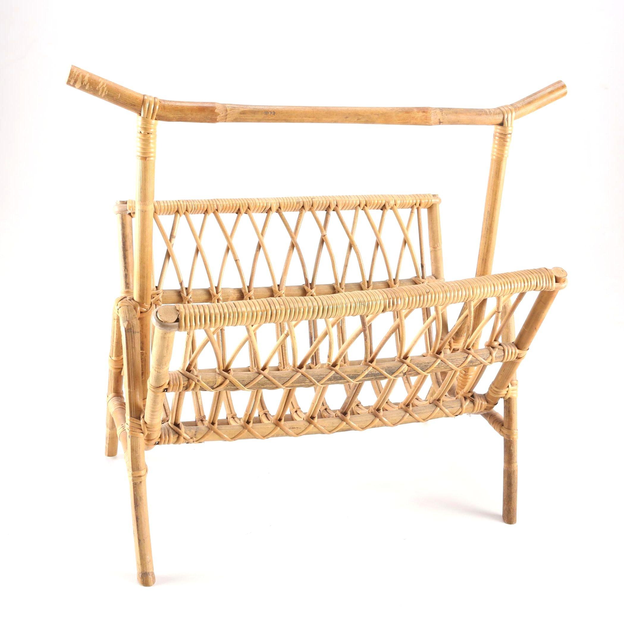 How to make a bamboo magazine rack