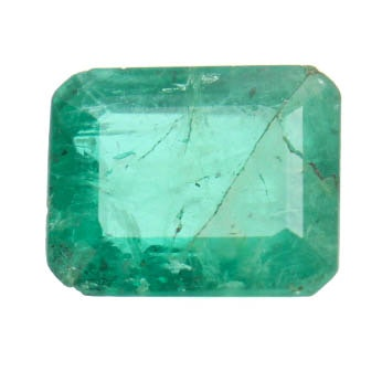 Loose 1.13 CTS Natural Emerald Stone
