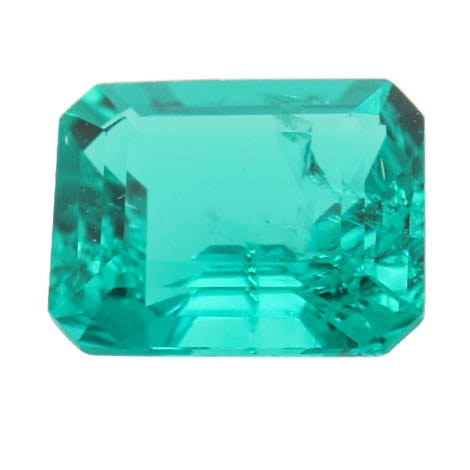 Loose 3.03 CTS Synthetic Emerald Stone