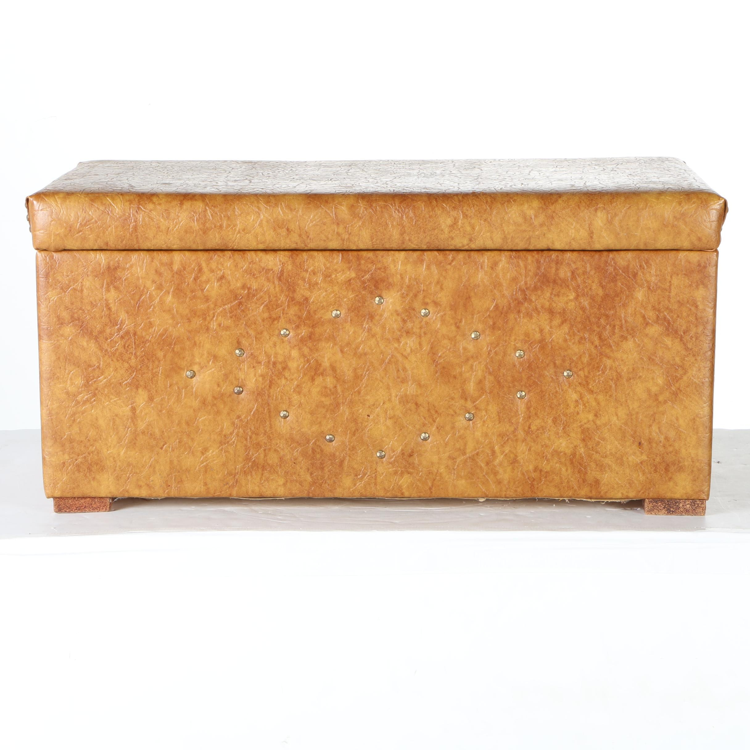 Leather Over Pine Trunk