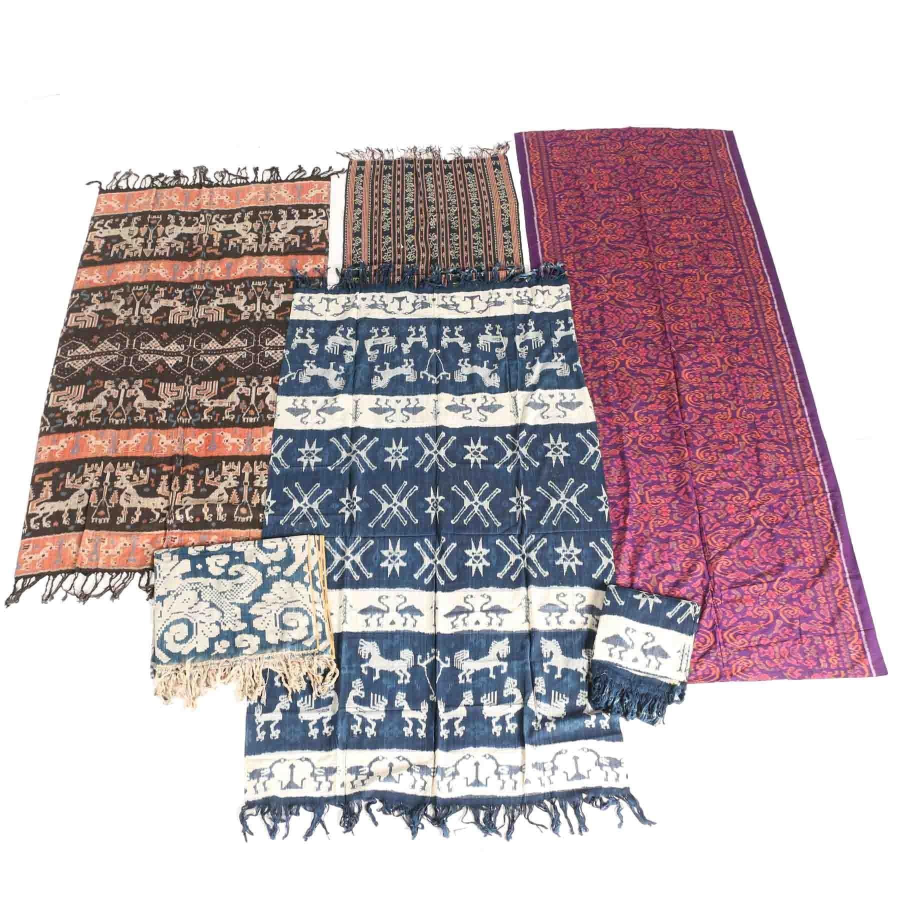 Collection of Ikat Fabrics